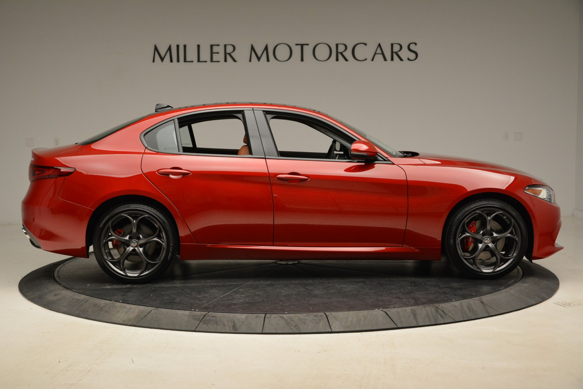 New 2018 Alfa Romeo Giulia Ti Sport Q4 For Sale In Westport, CT 2127_p9