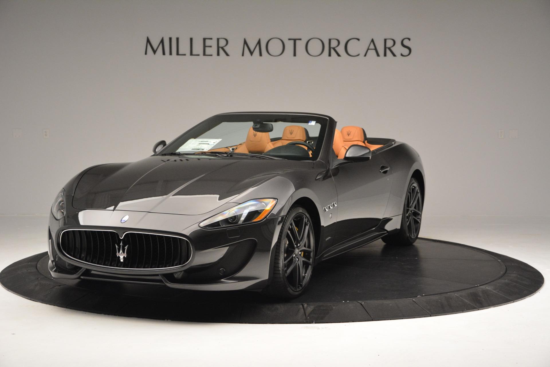 Used 2015 Maserati GranTurismo Sport Convertible For Sale In Westport, CT 2129_main