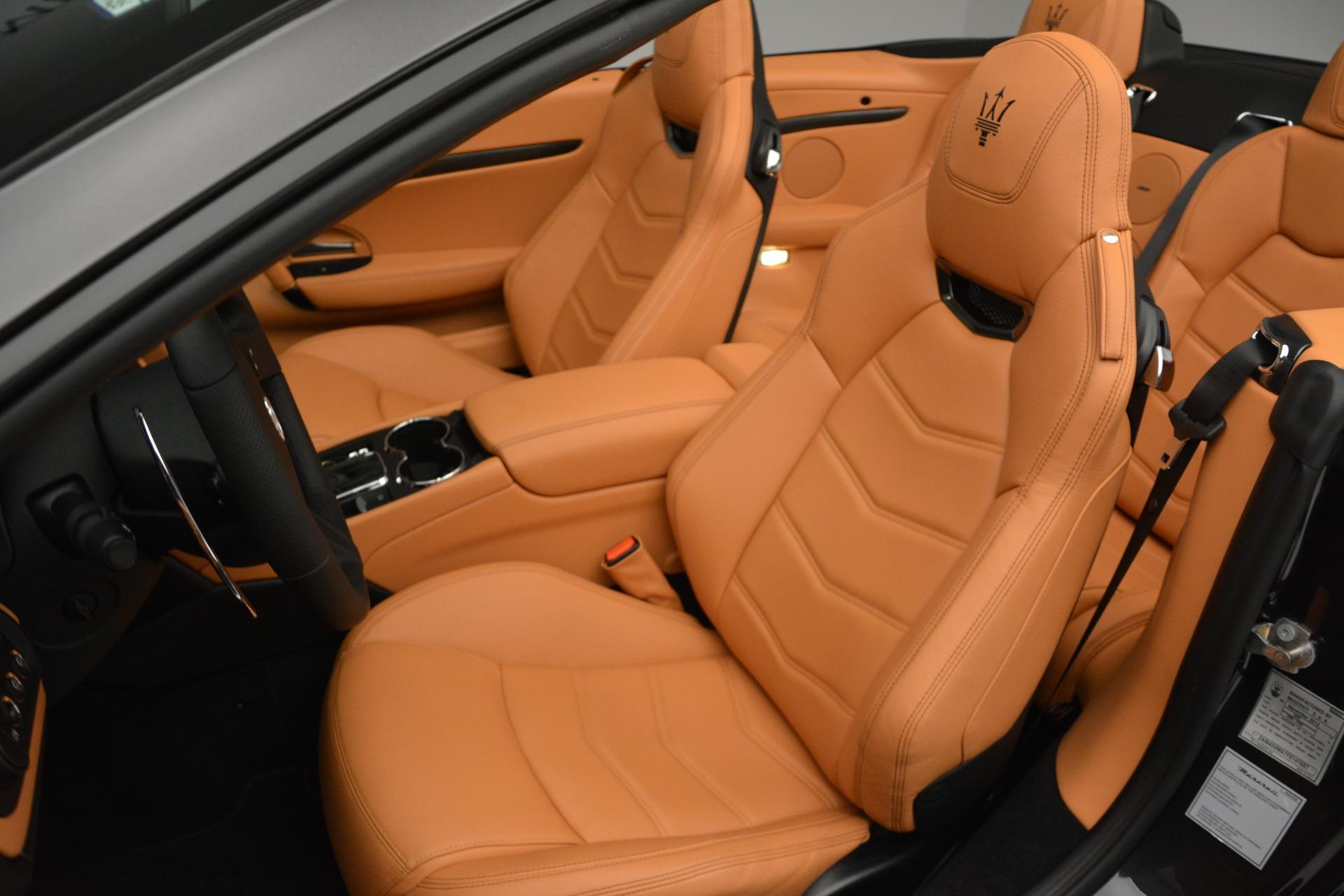 Used 2015 Maserati GranTurismo Sport Convertible For Sale In Westport, CT 2129_p21