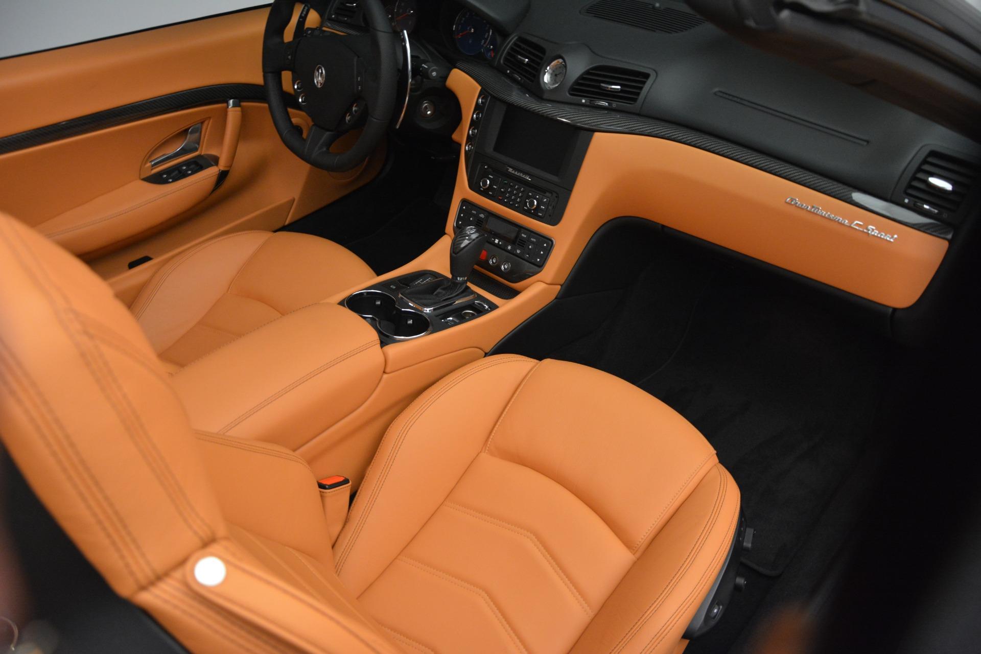 Used 2015 Maserati GranTurismo Sport Convertible For Sale In Westport, CT 2129_p23