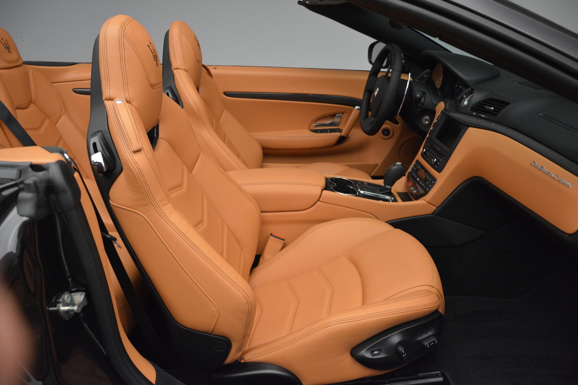 Used 2015 Maserati GranTurismo Sport Convertible For Sale In Westport, CT 2129_p24