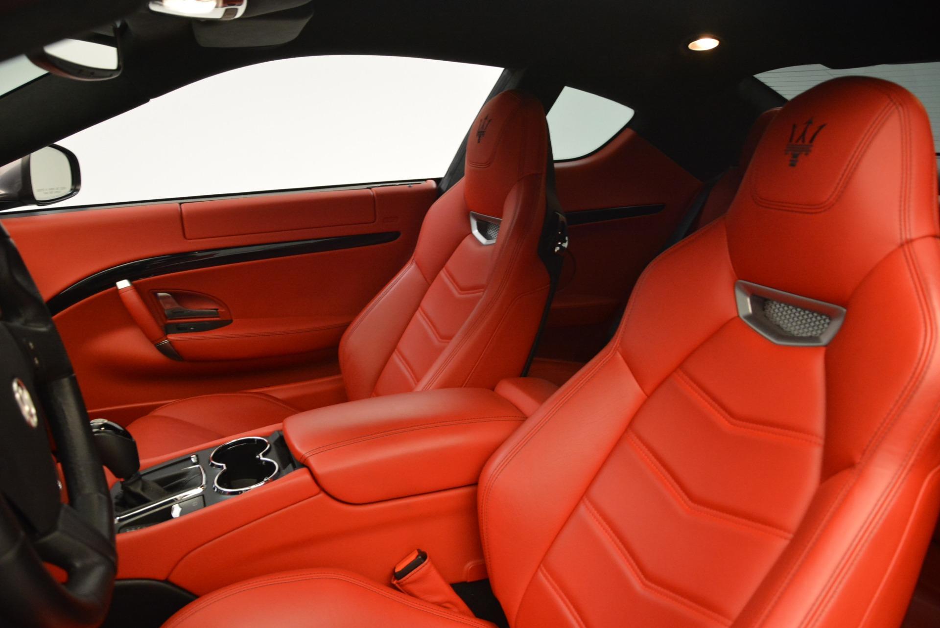 Used 2014 Maserati GranTurismo Sport For Sale In Westport, CT 2131_p13