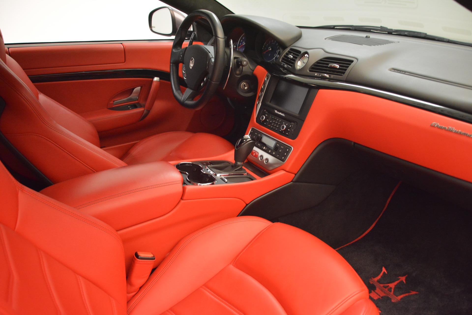 Used 2014 Maserati GranTurismo Sport For Sale In Westport, CT 2131_p17