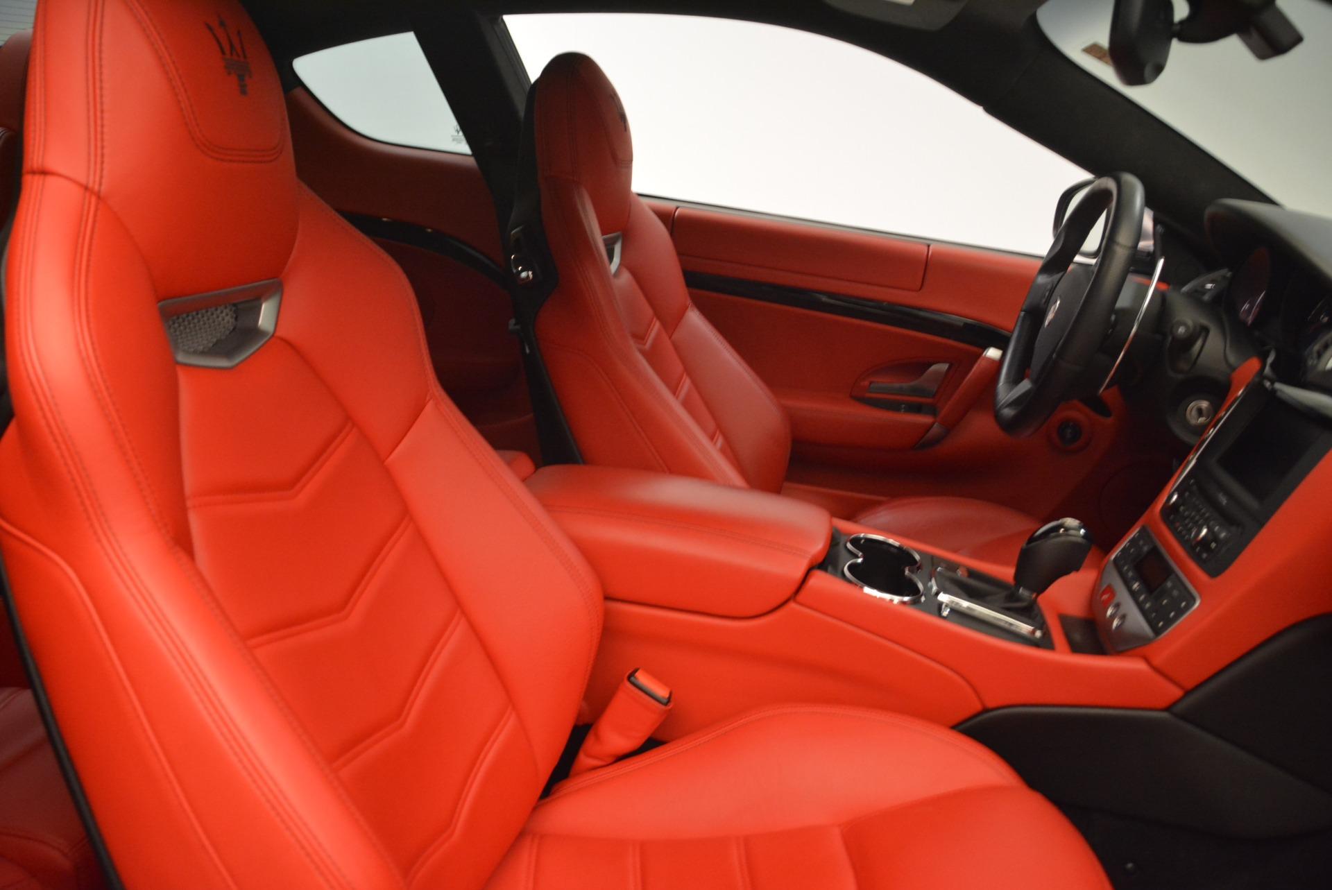 Used 2014 Maserati GranTurismo Sport For Sale In Westport, CT 2131_p18
