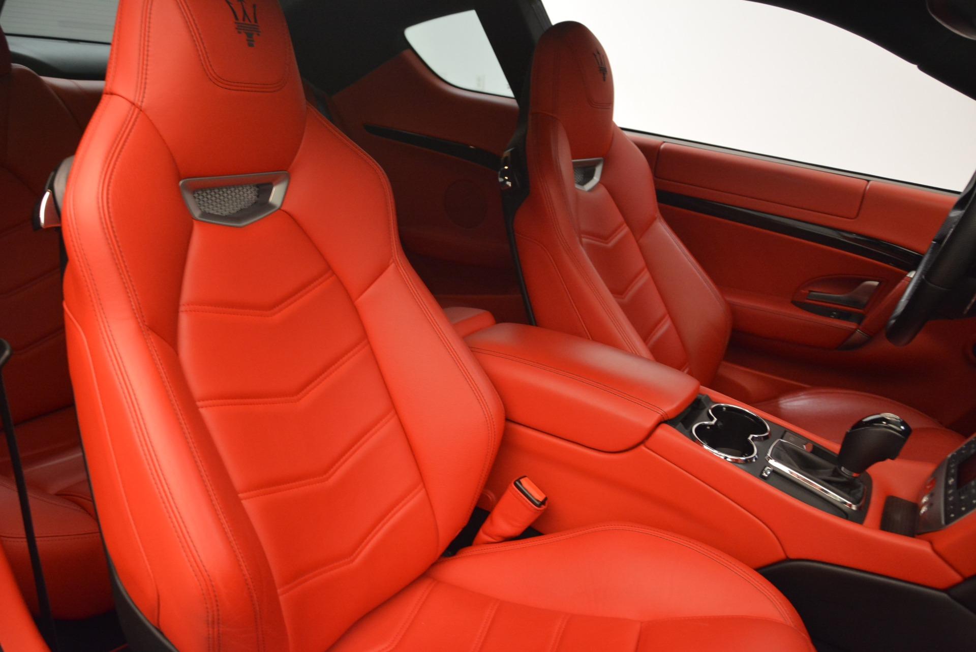 Used 2014 Maserati GranTurismo Sport For Sale In Westport, CT 2131_p19