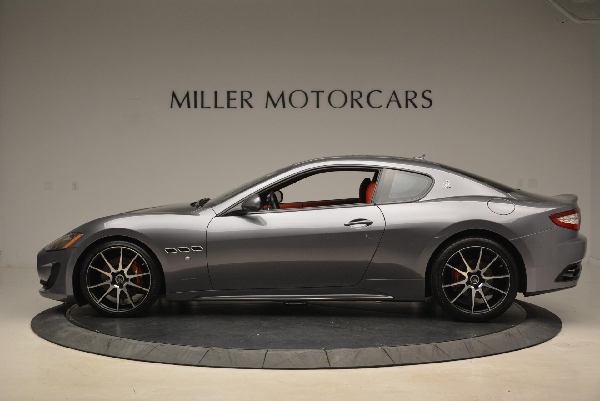 Used 2014 Maserati GranTurismo Sport For Sale In Westport, CT 2131_p2