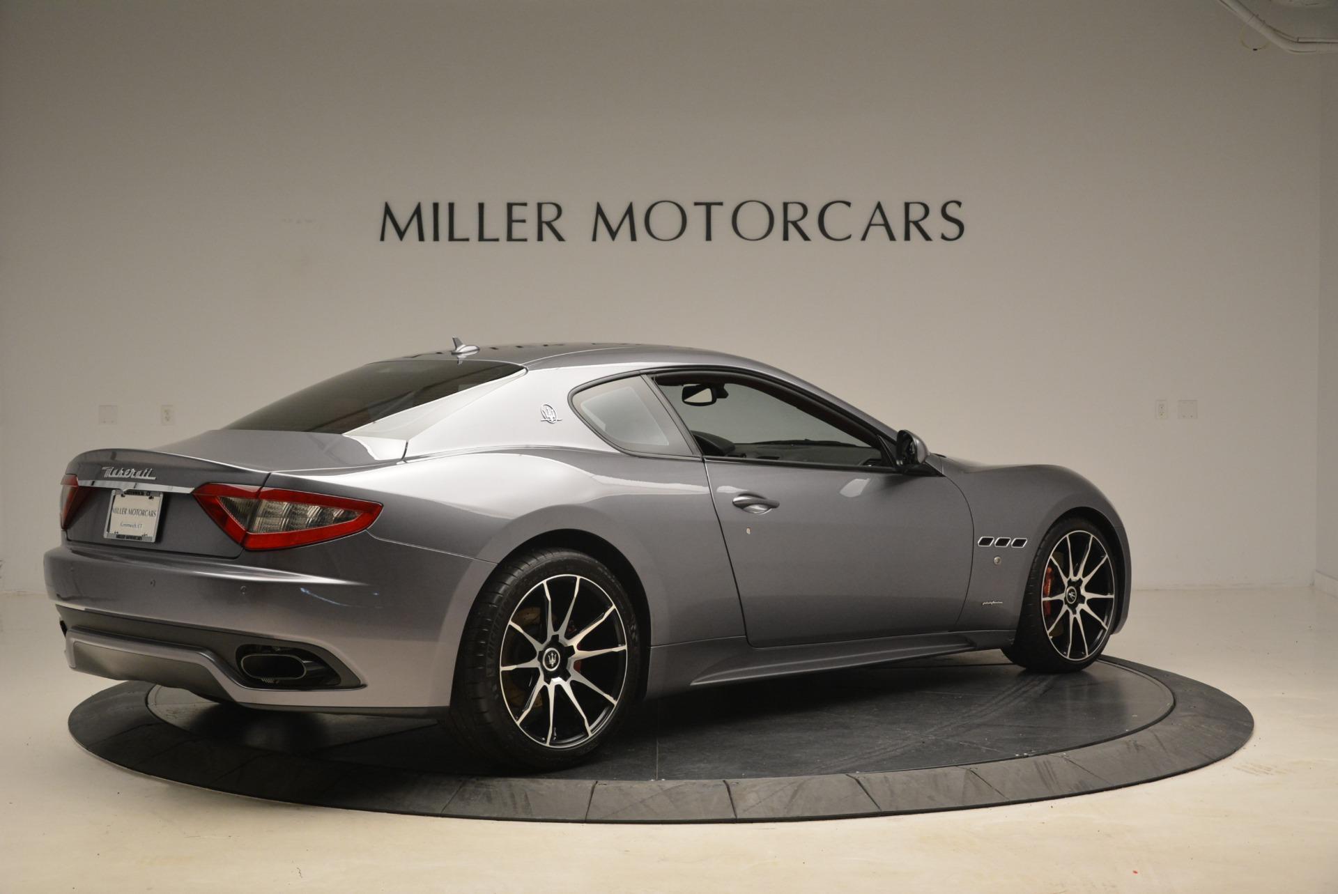 Used 2014 Maserati GranTurismo Sport For Sale In Westport, CT 2131_p6