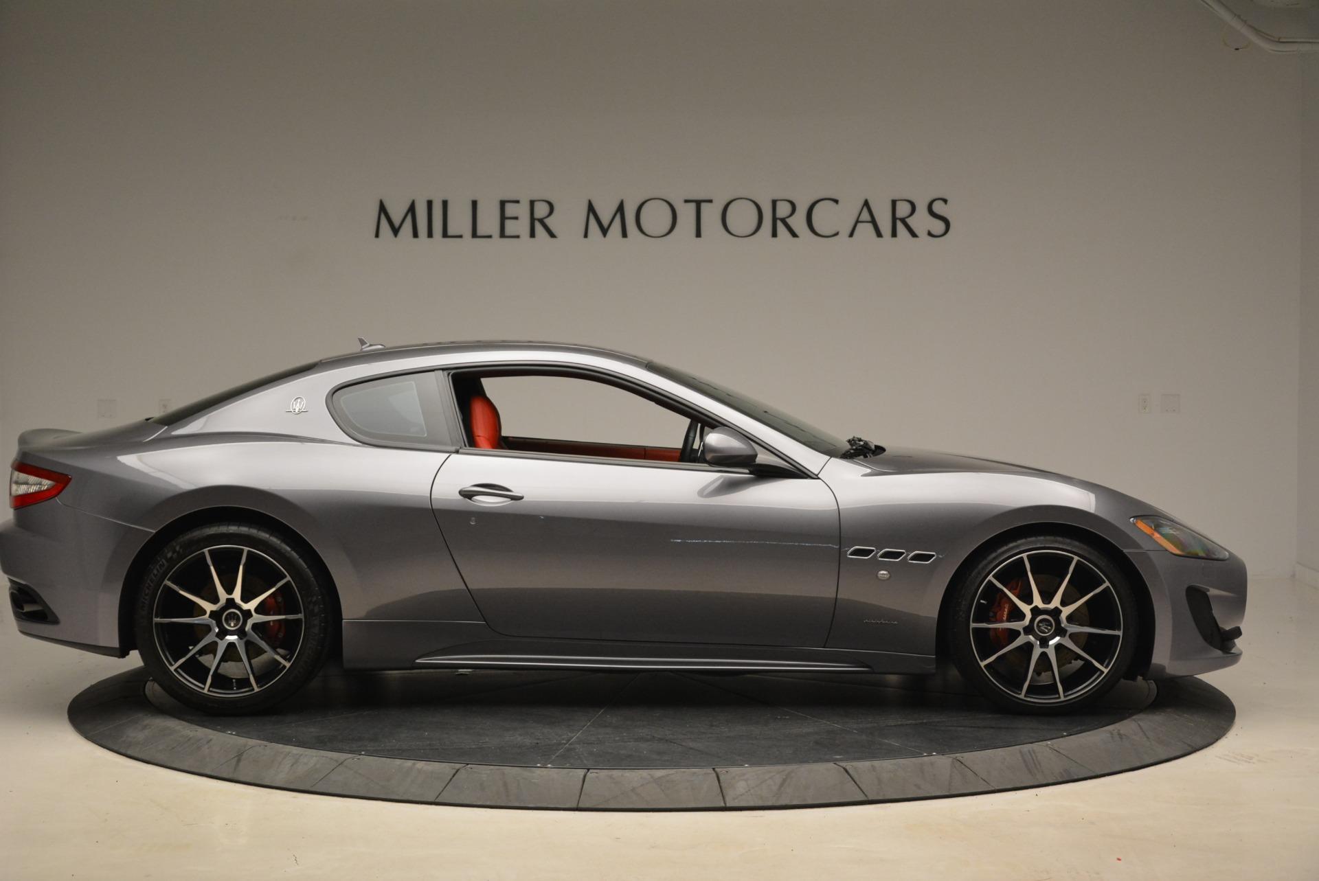 Used 2014 Maserati GranTurismo Sport For Sale In Westport, CT 2131_p7