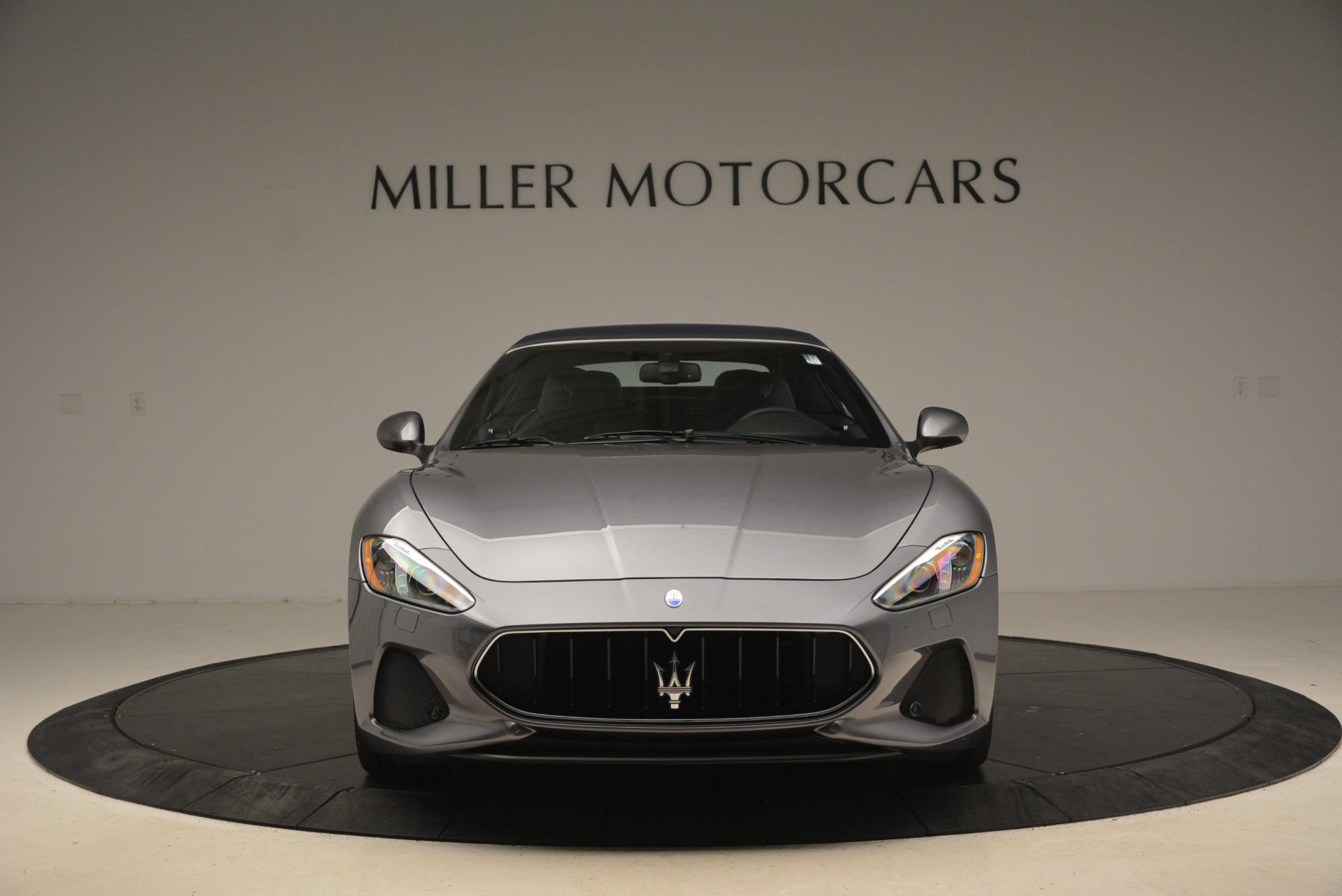 New 2018 Maserati GranTurismo Sport Convertible For Sale In Westport, CT 2140_p12