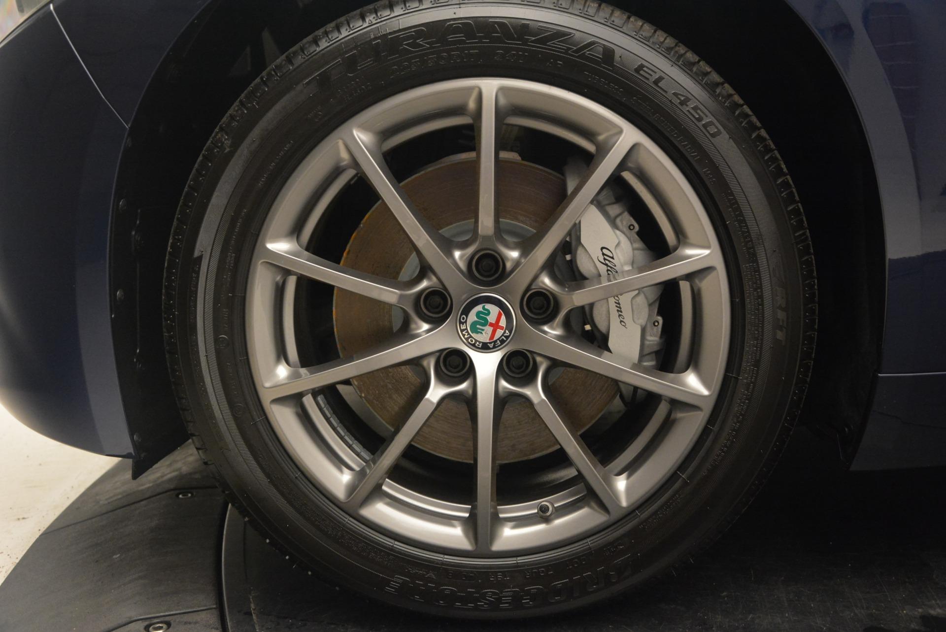 New 2018 Alfa Romeo Giulia Q4 For Sale In Westport, CT 2144_p25