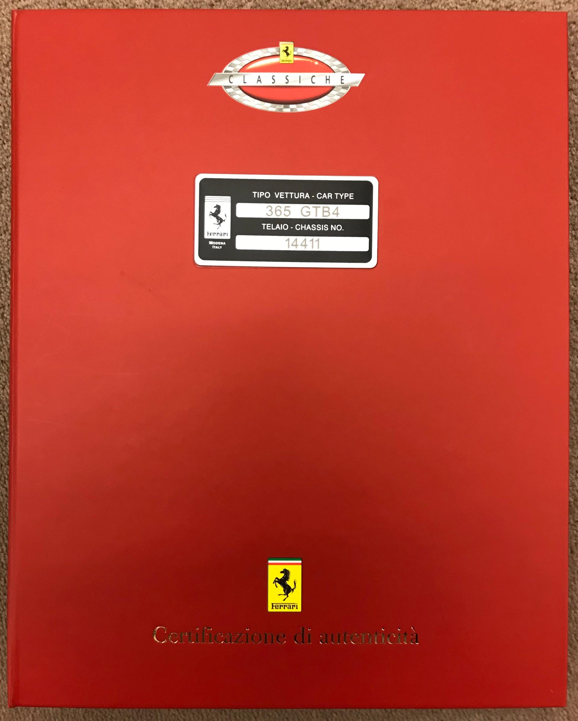 Used 1971 Ferrari 365 GTB/4 Daytona For Sale In Westport, CT 2146_p30