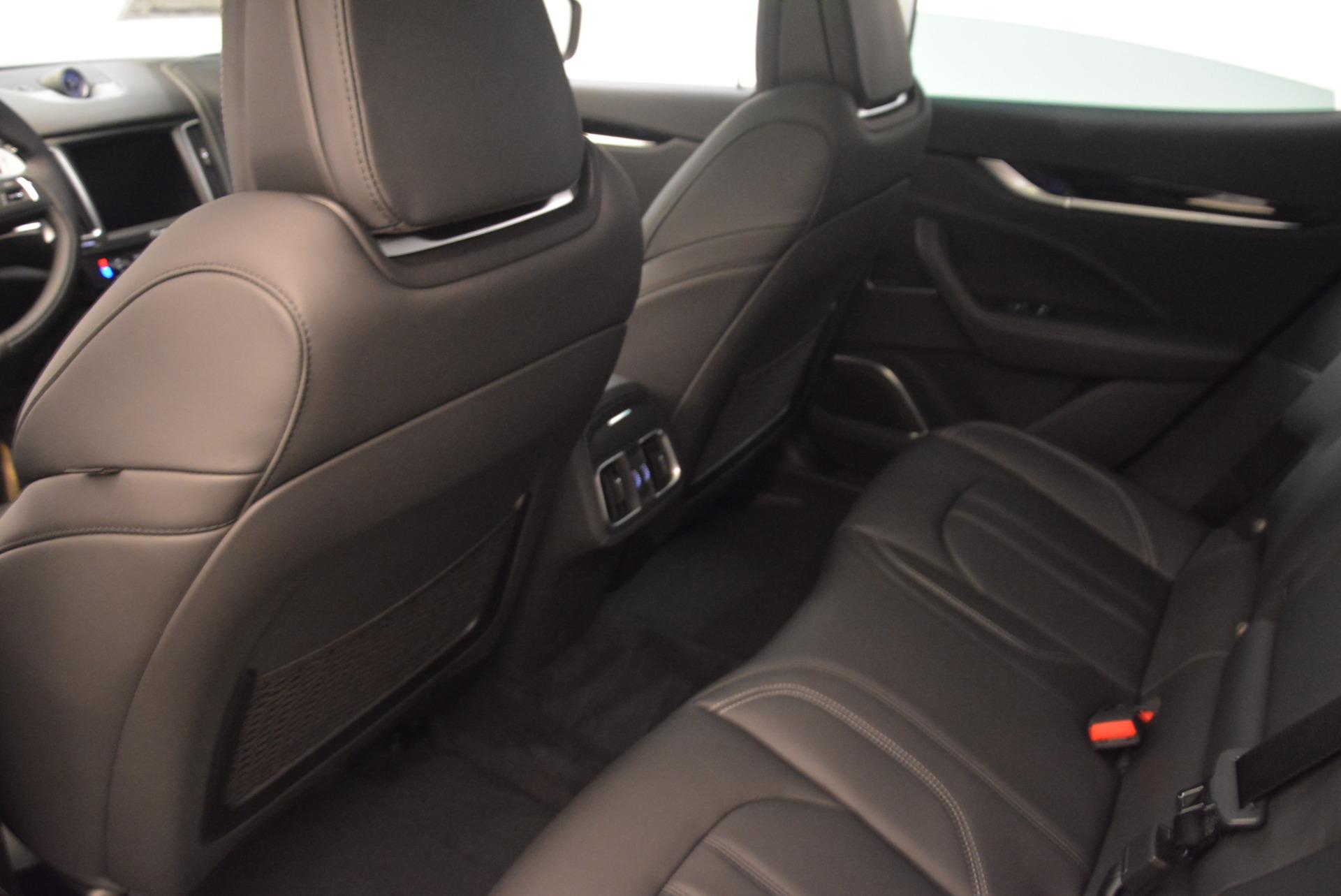 New 2018 Maserati Levante S Q4 GranSport For Sale In Westport, CT 2170_p17