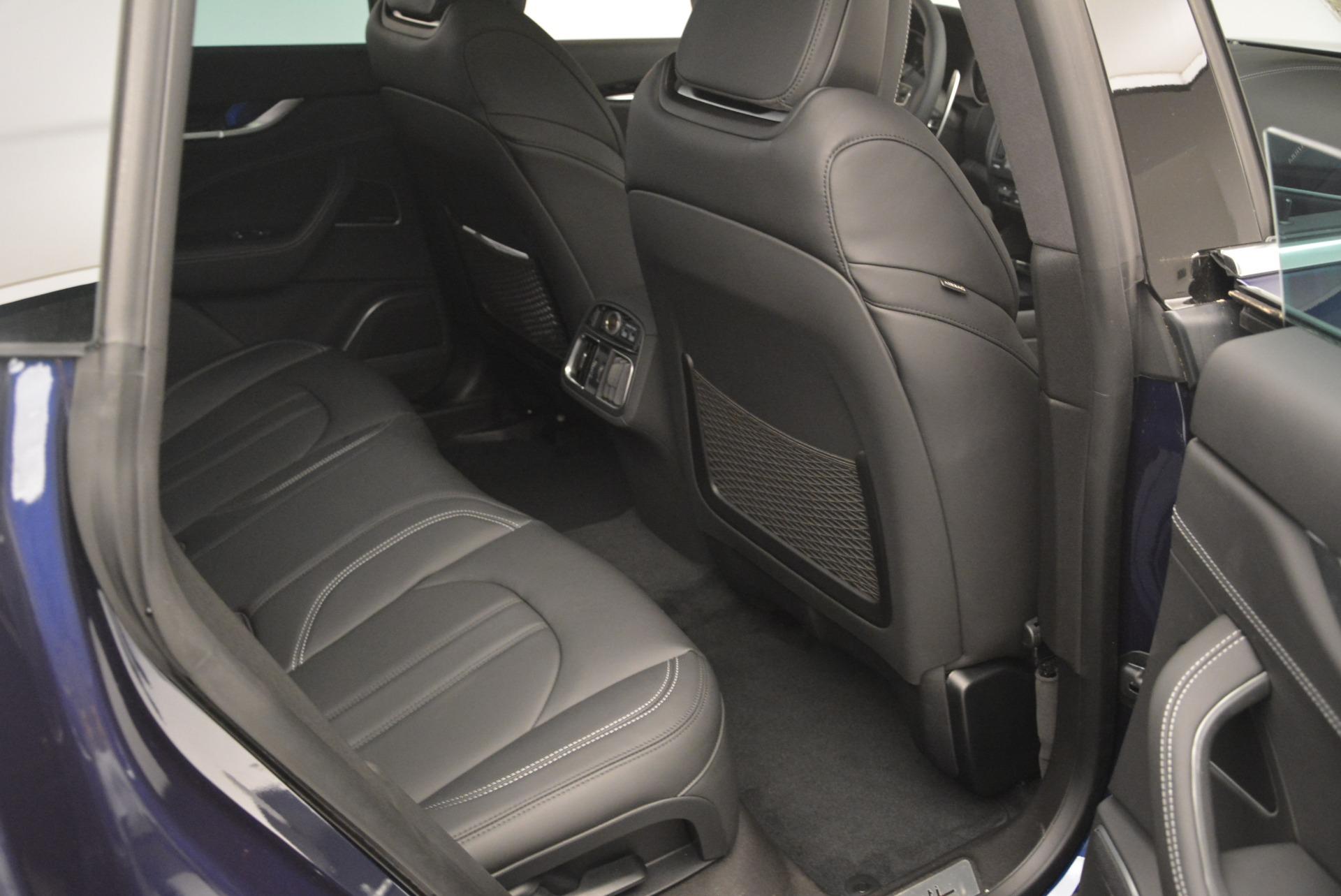 New 2018 Maserati Levante S Q4 GranSport For Sale In Westport, CT 2171_p26