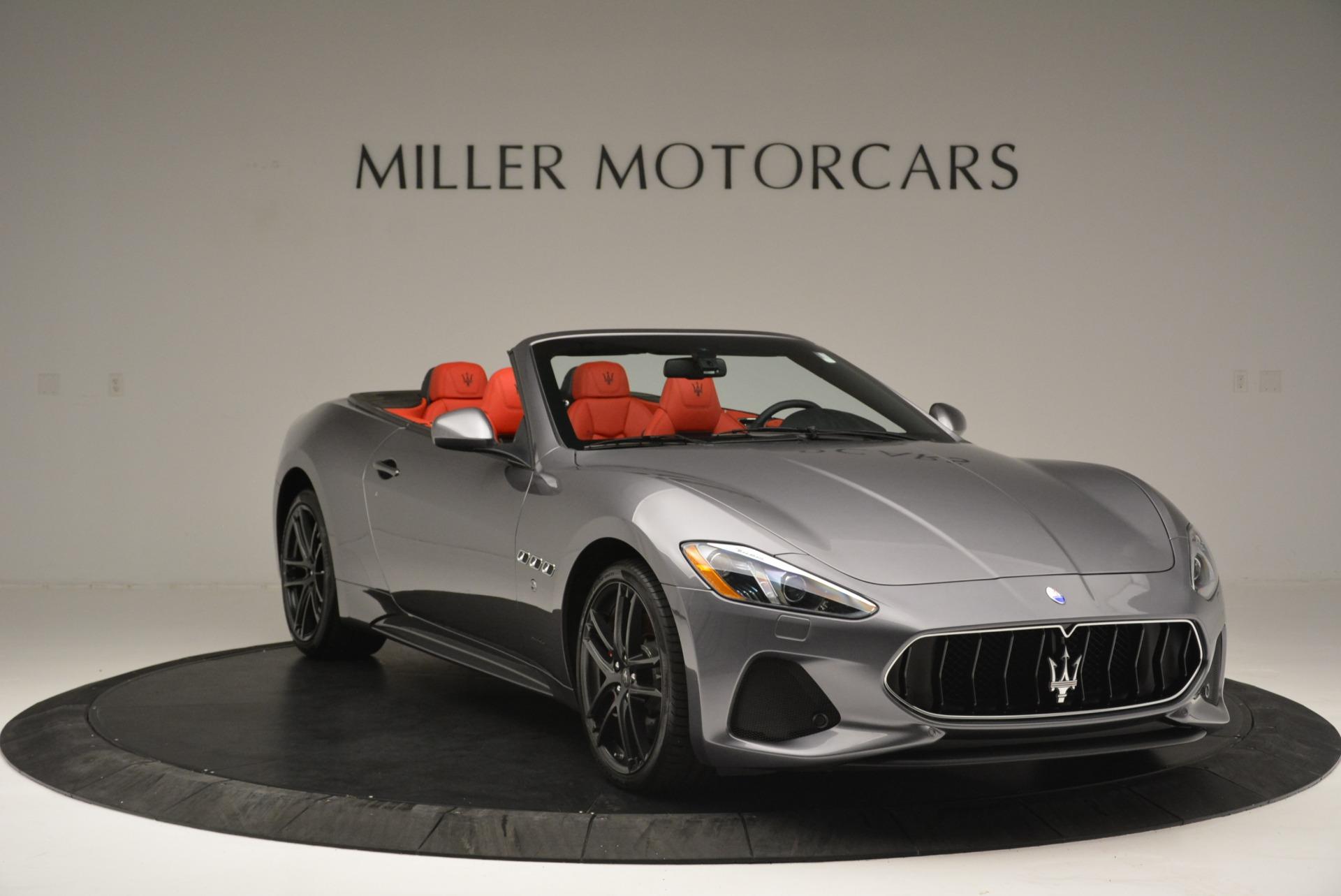 New 2018 Maserati GranTurismo Sport Convertible For Sale In Westport, CT 2182_p11