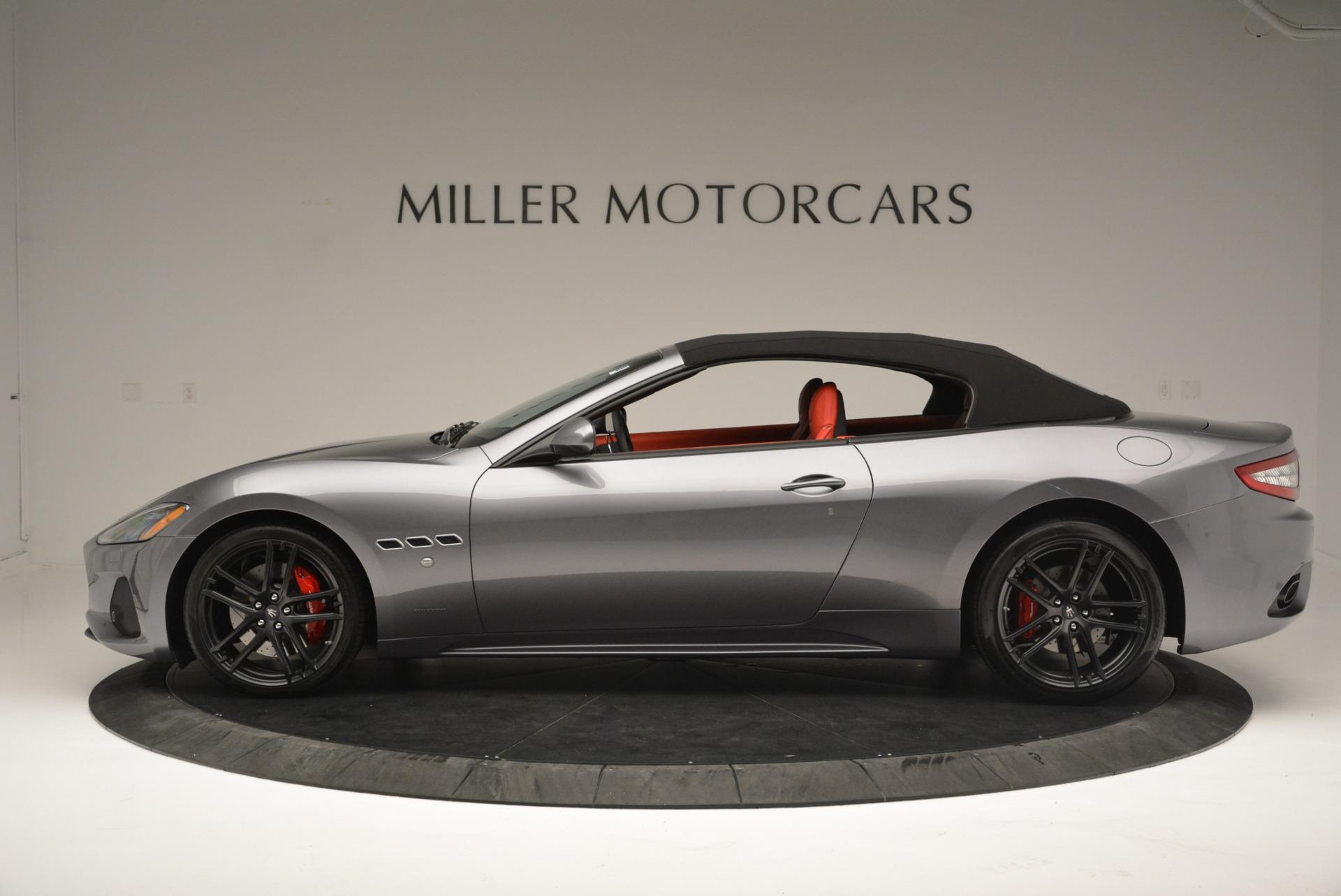 New 2018 Maserati GranTurismo Sport Convertible For Sale In Westport, CT 2182_p15
