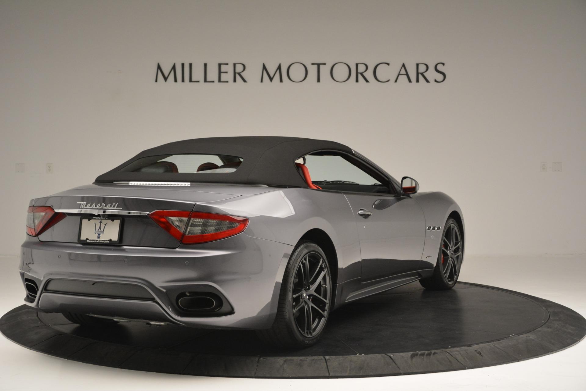 New 2018 Maserati GranTurismo Sport Convertible For Sale In Westport, CT 2182_p19