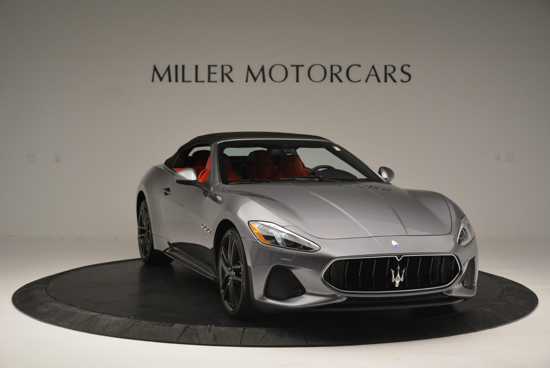 New 2018 Maserati GranTurismo Sport Convertible For Sale In Westport, CT 2182_p23