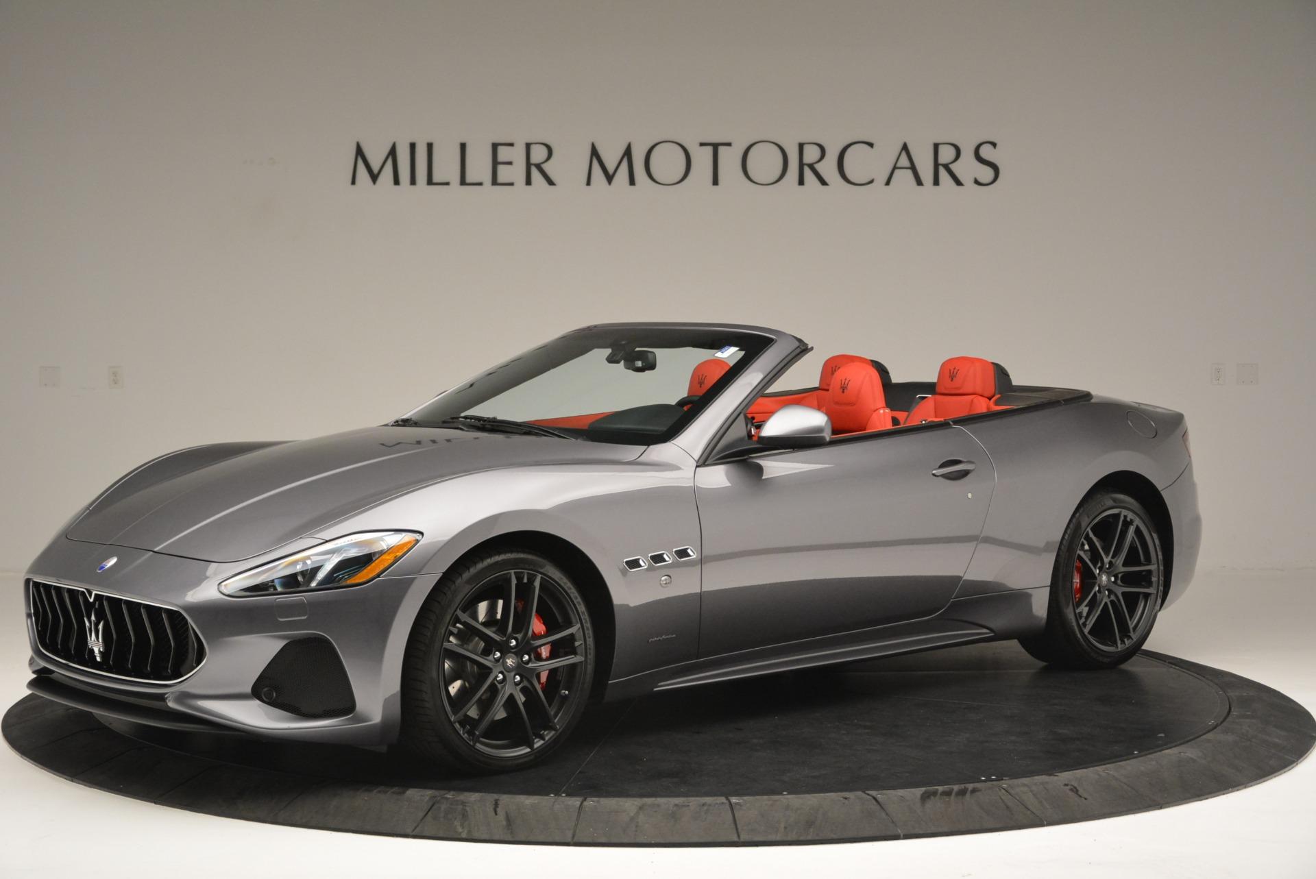 New 2018 Maserati GranTurismo Sport Convertible For Sale In Westport, CT 2182_p2