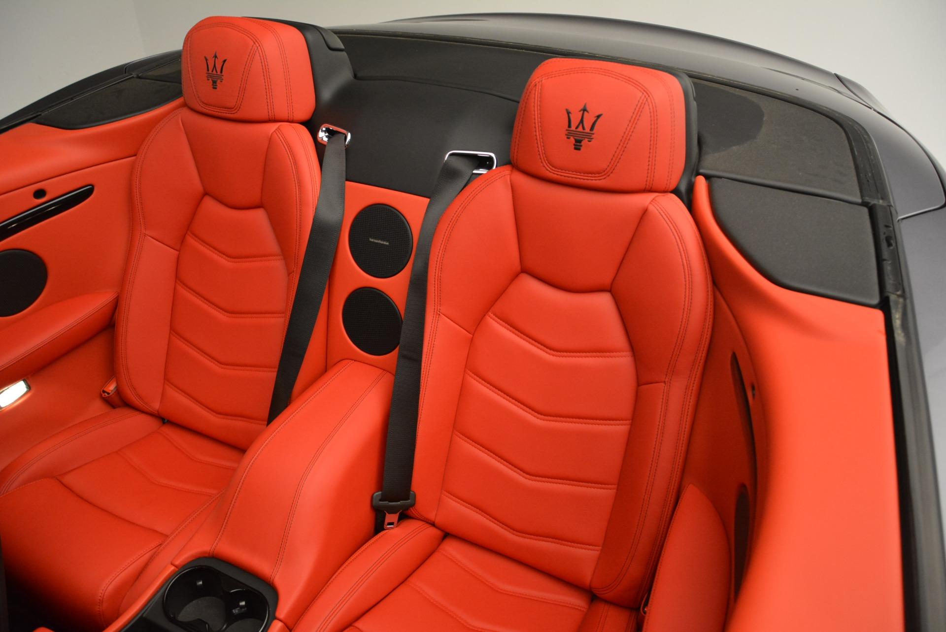 New 2018 Maserati GranTurismo Sport Convertible For Sale In Westport, CT 2182_p30