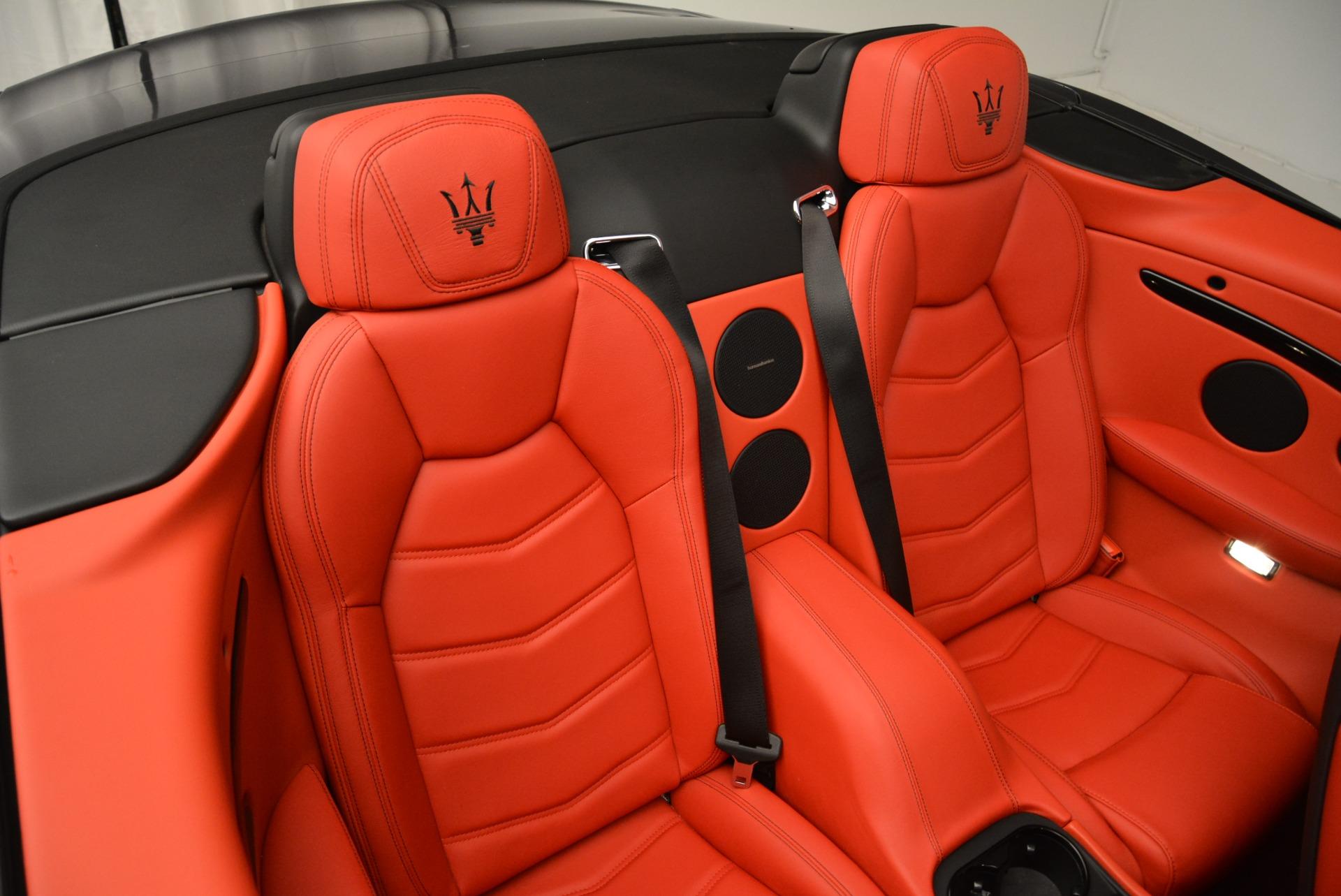 New 2018 Maserati GranTurismo Sport Convertible For Sale In Westport, CT 2182_p37