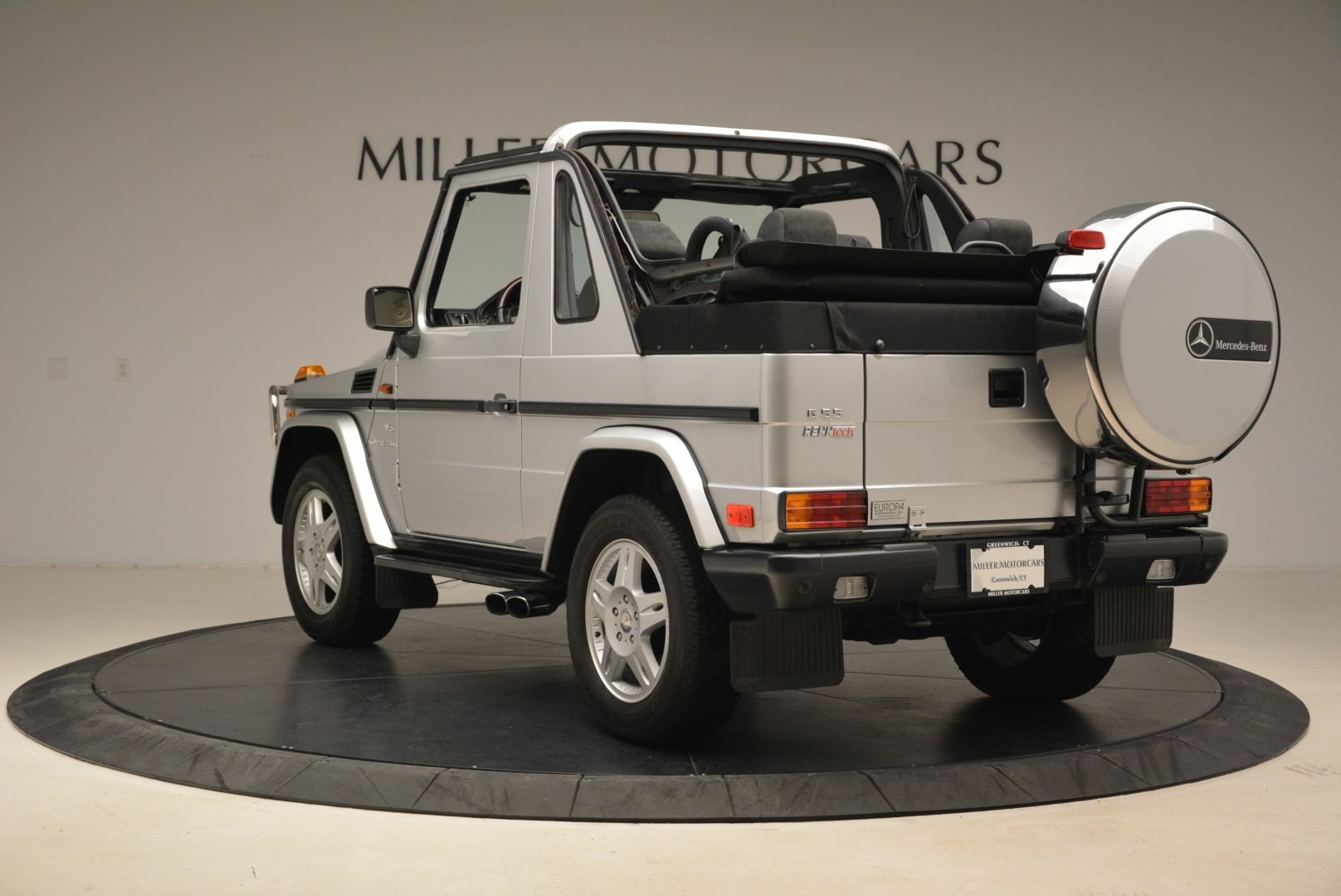 Used 2000 Mercedes-Benz G500 RENNTech  For Sale In Westport, CT 2184_p5