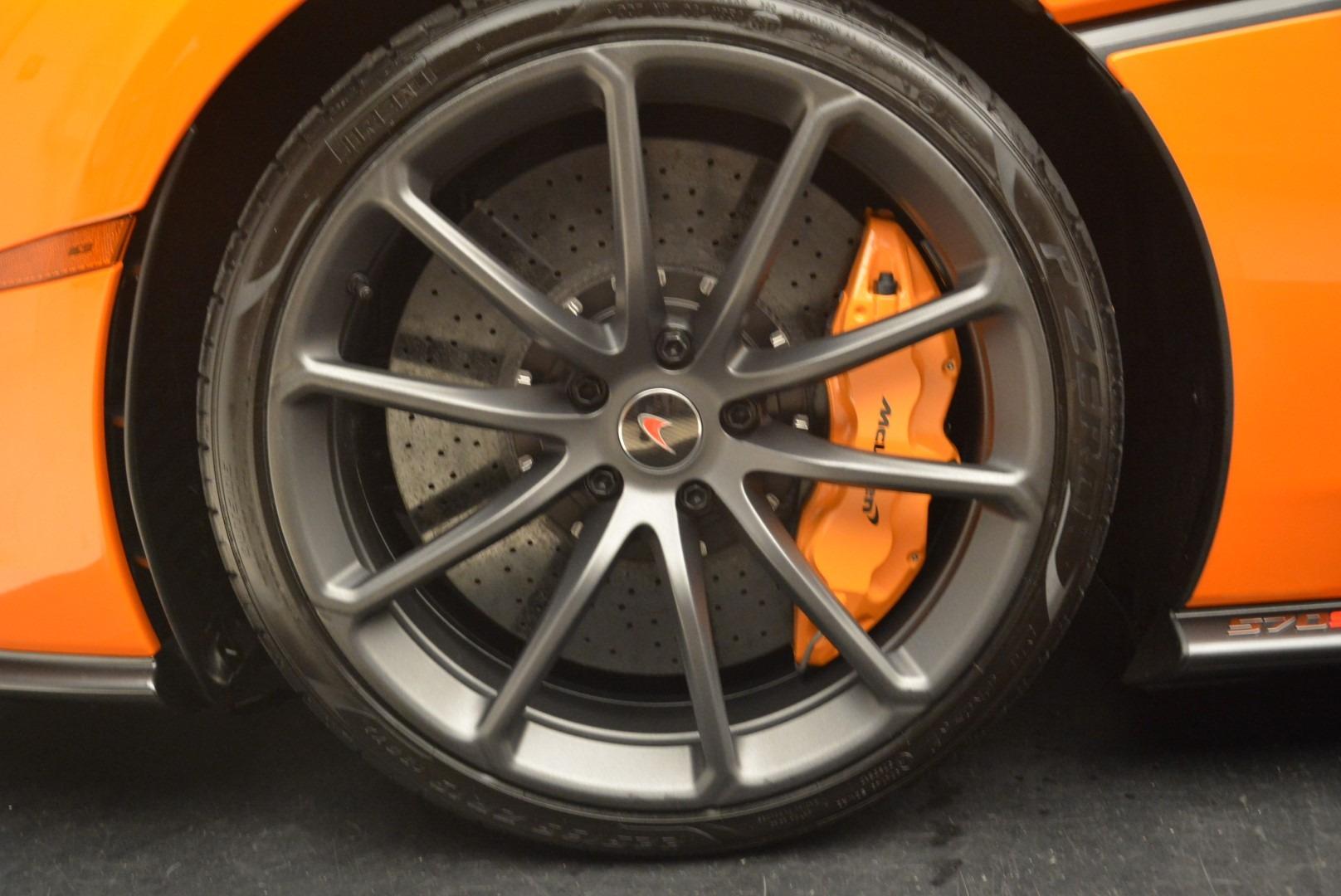 Used 2018 McLaren 570S Spider Convertible For Sale In Westport, CT 2188_p23