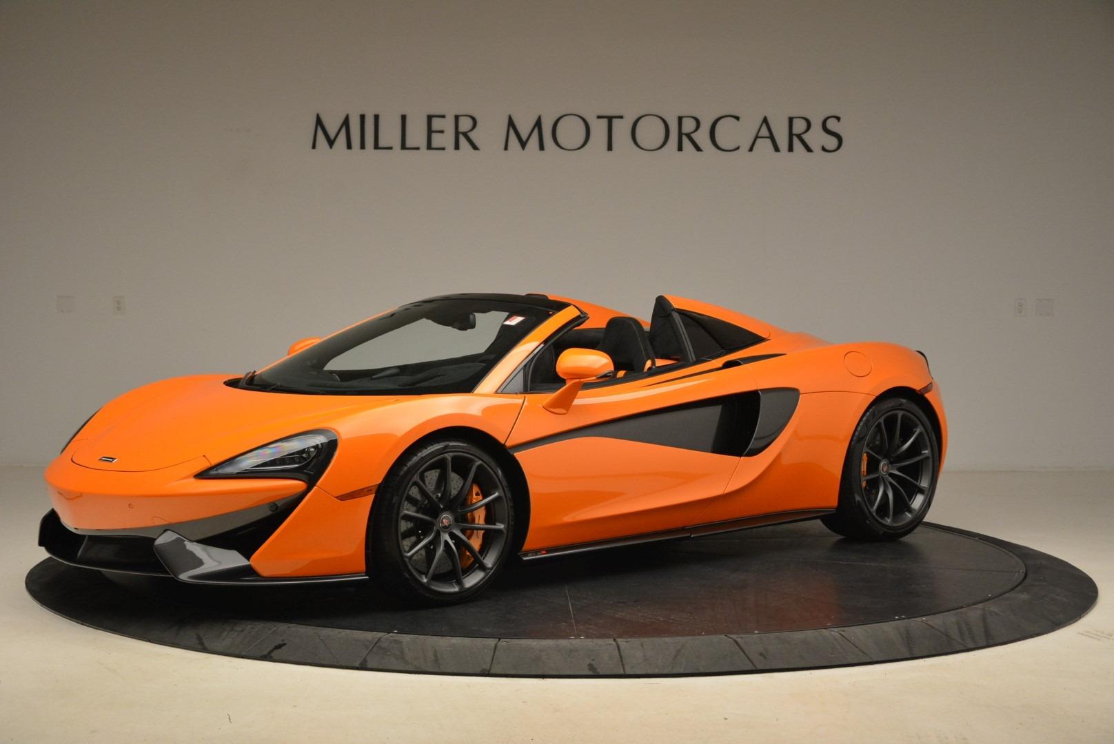 Used 2018 McLaren 570S Spider Convertible For Sale In Westport, CT 2188_p2