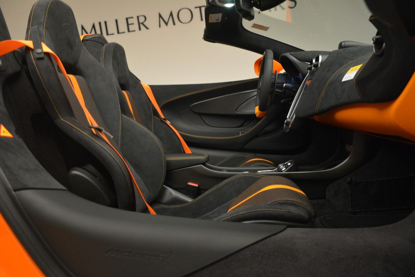 Used 2018 McLaren 570S Spider Convertible For Sale In Westport, CT 2188_p30