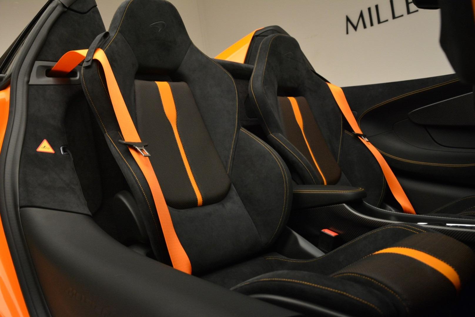 Used 2018 McLaren 570S Spider Convertible For Sale In Westport, CT 2188_p31