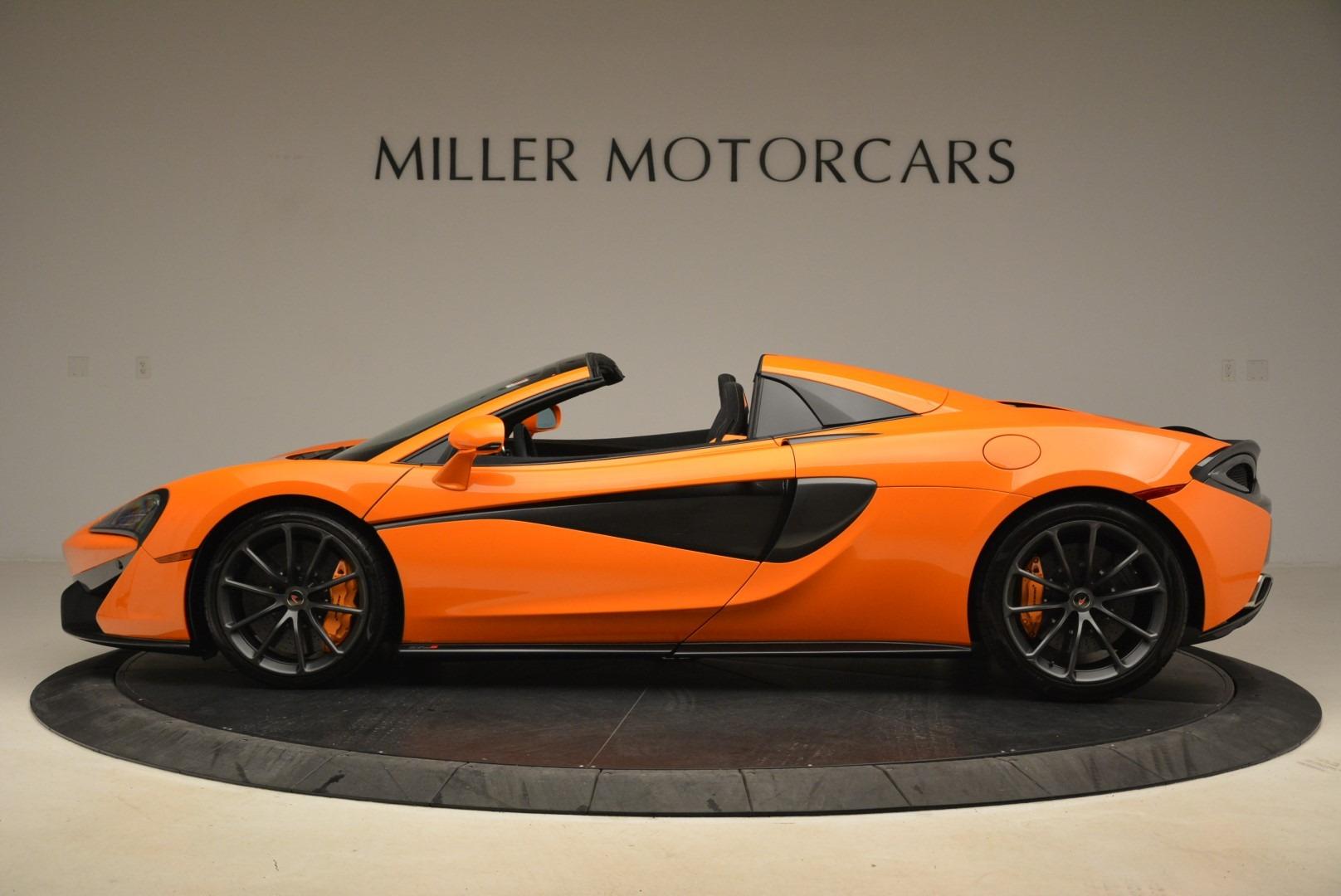 Used 2018 McLaren 570S Spider Convertible For Sale In Westport, CT 2188_p3