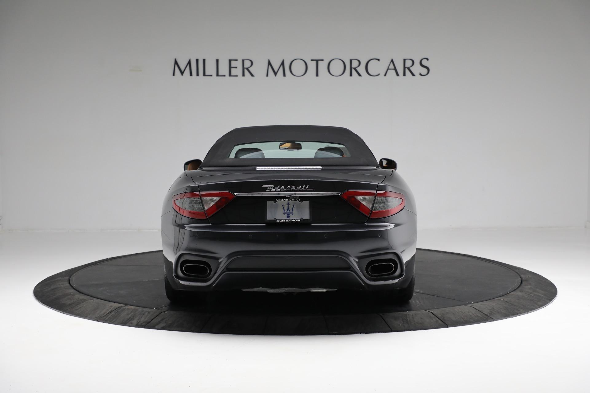 New 2018 Maserati GranTurismo Sport Convertible For Sale In Westport, CT 2198_p12