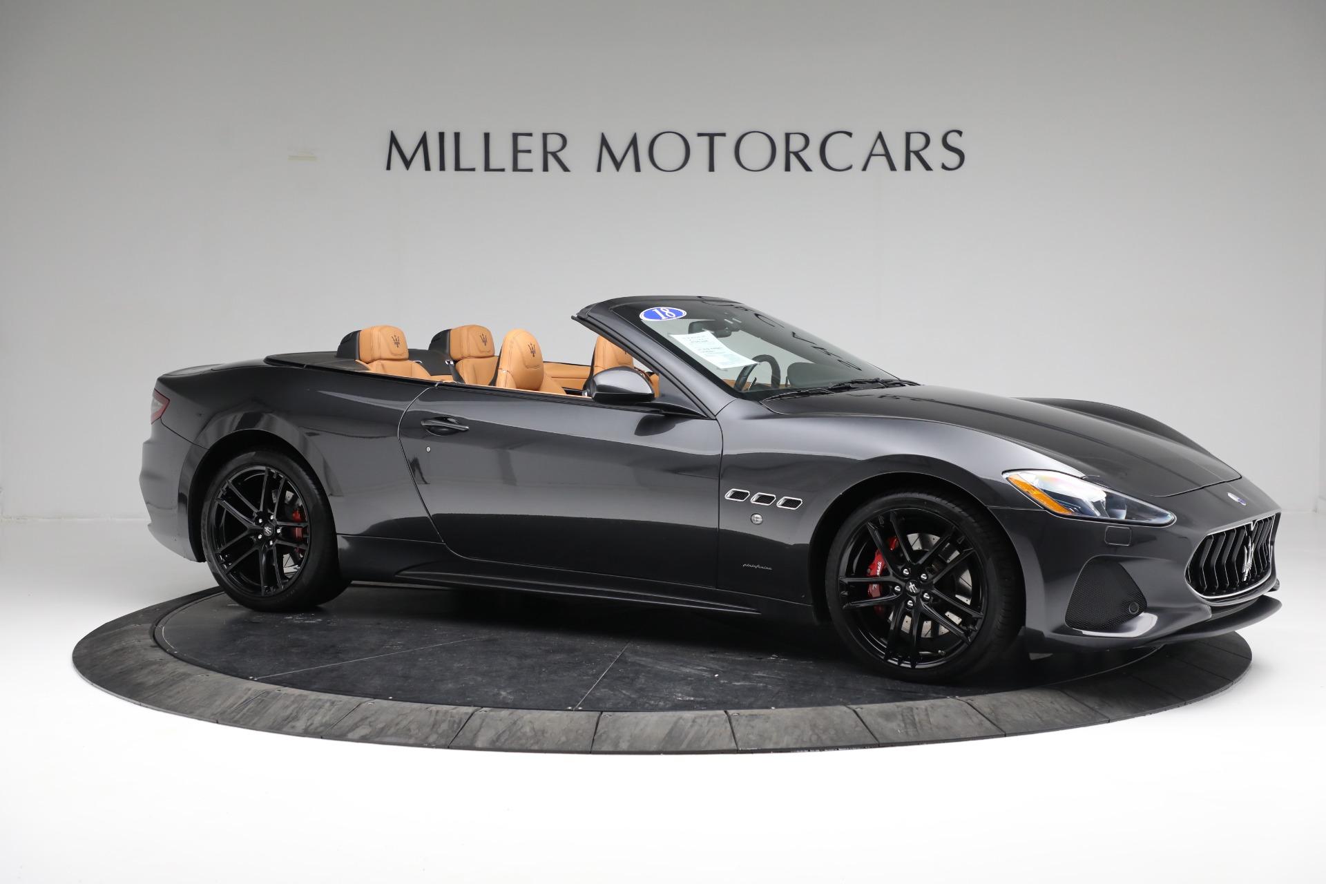 New 2018 Maserati GranTurismo Sport Convertible For Sale In Westport, CT 2198_p19