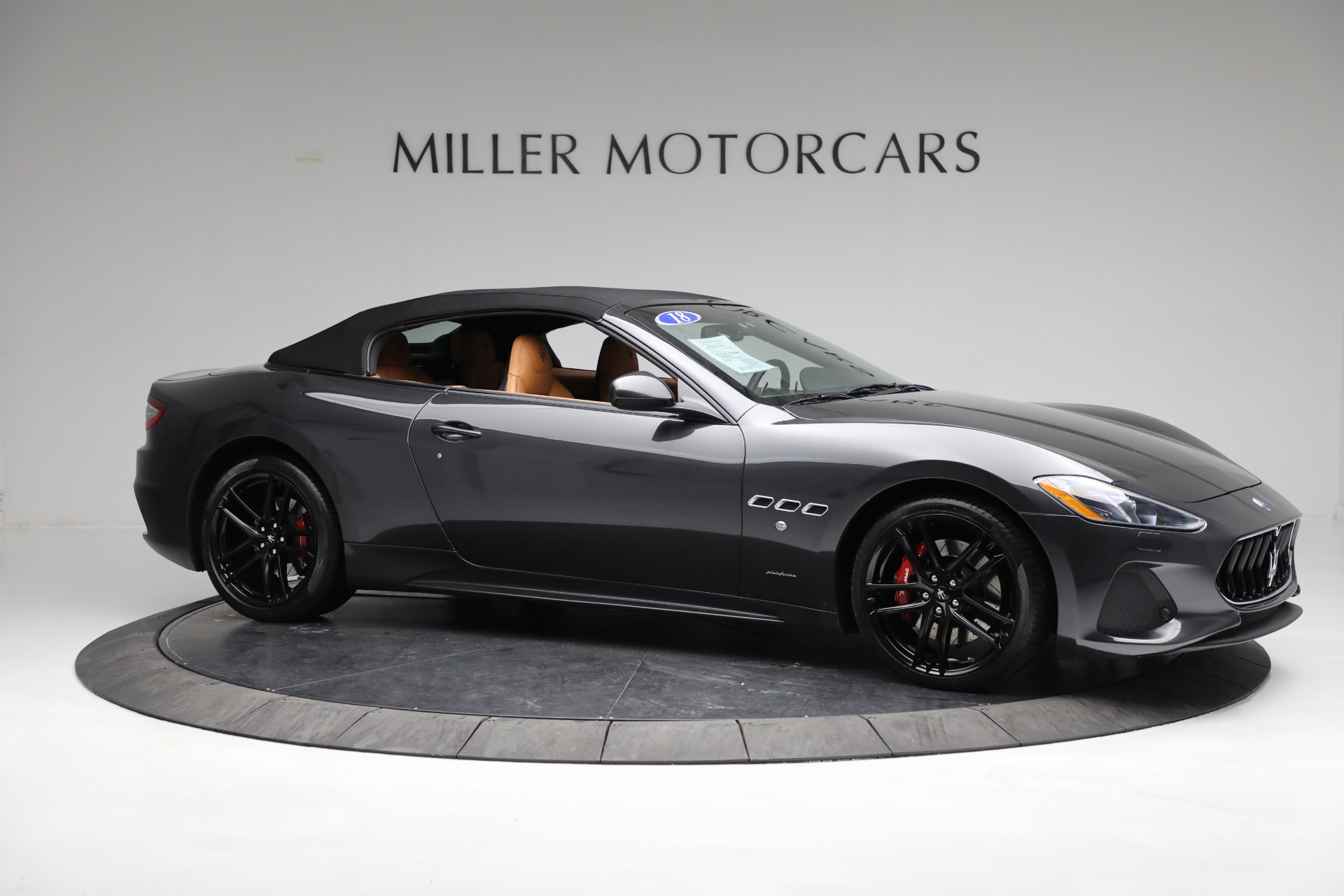 New 2018 Maserati GranTurismo Sport Convertible For Sale In Westport, CT 2198_p20