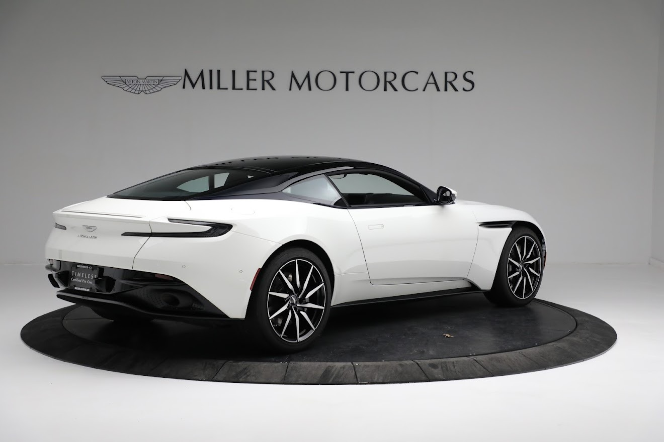 New 2018 Aston Martin DB11 V8 Coupe For Sale In Westport, CT 2211_p7