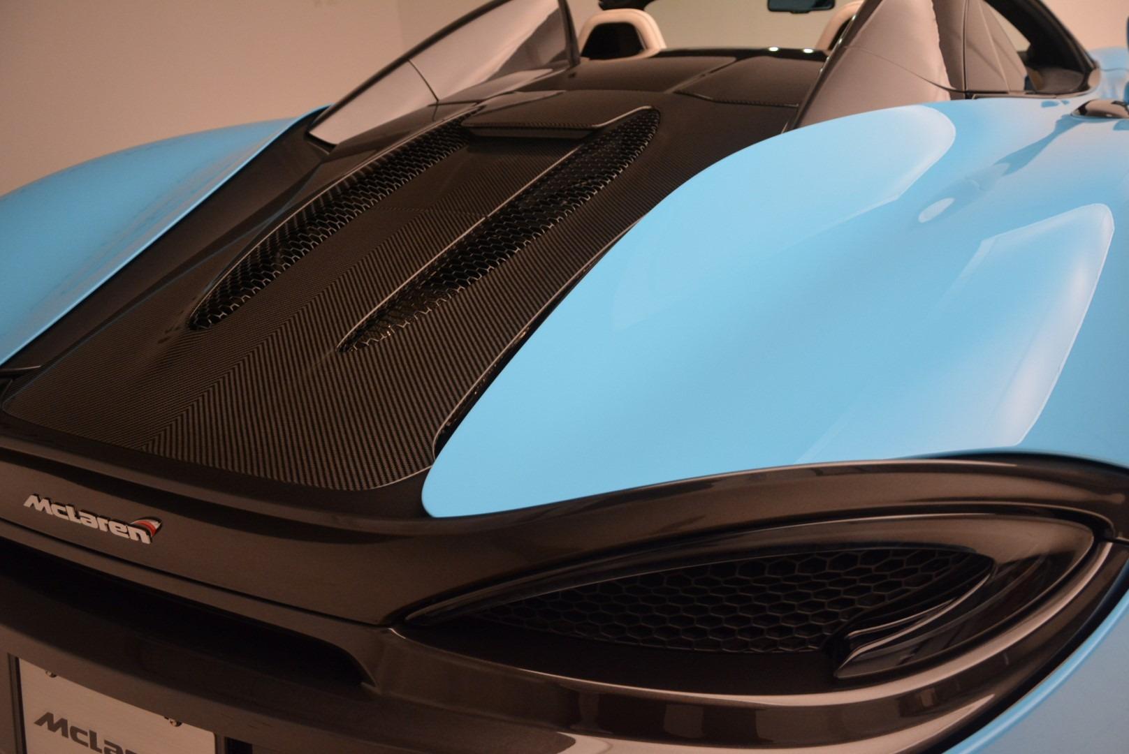 Used 2018 McLaren 570S Spider For Sale In Westport, CT 2215_p24