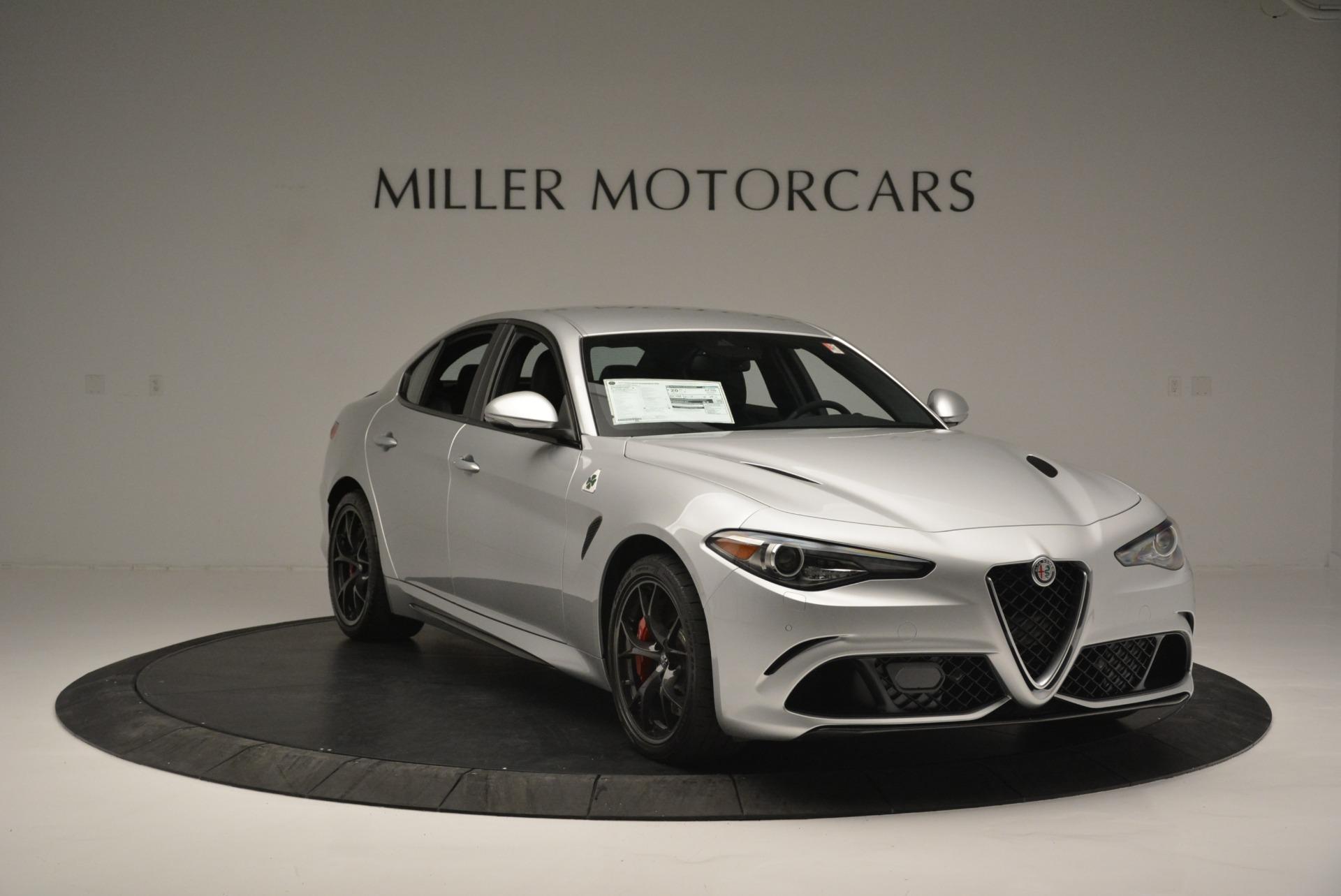 New 2018 Alfa Romeo Giulia Quadrifoglio For Sale In Westport, CT 2222_p11