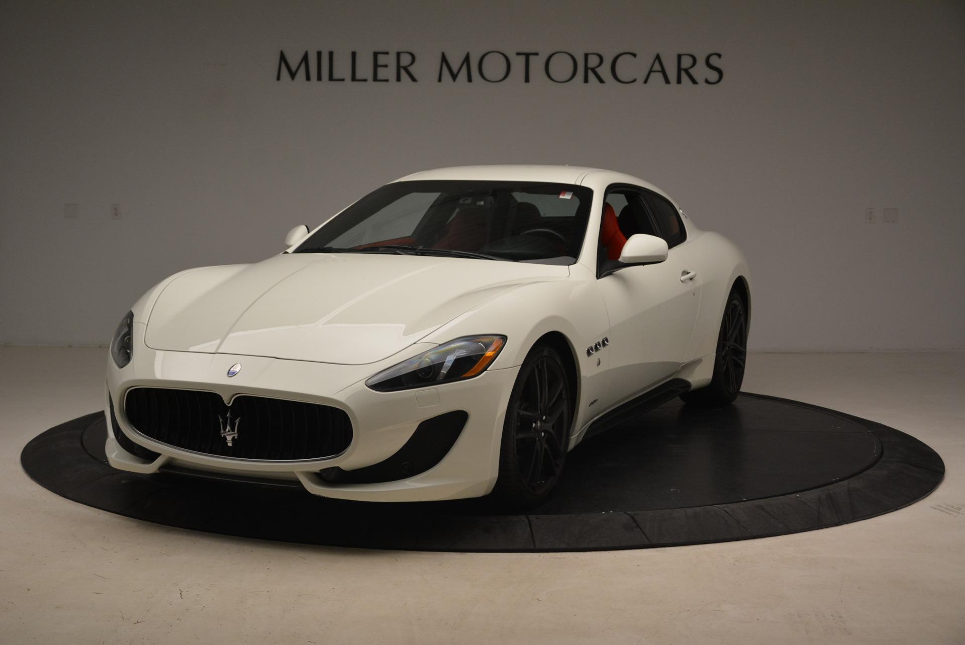 Used 2015 Maserati GranTurismo Sport For Sale In Westport, CT 2233_main