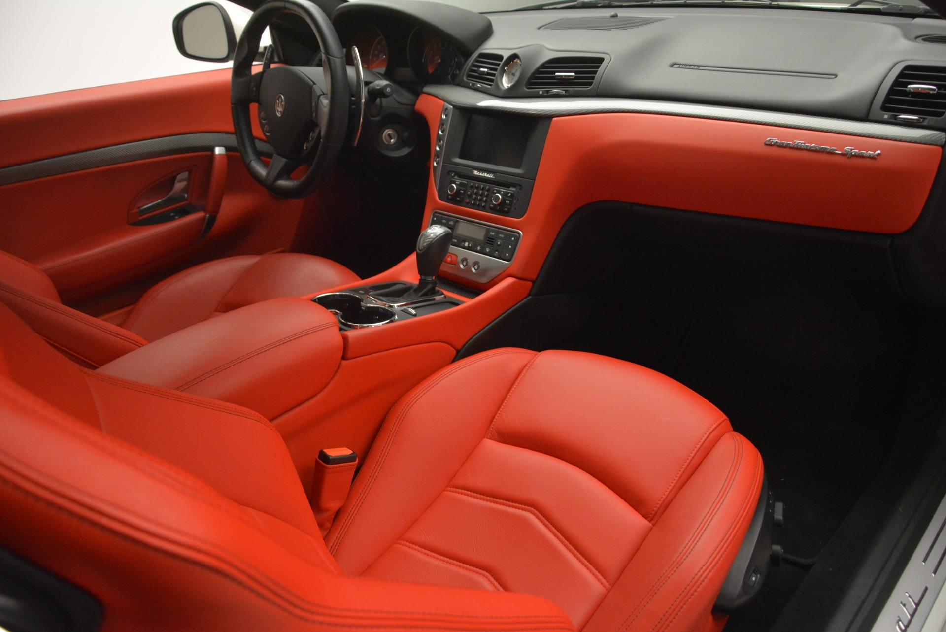 Used 2015 Maserati GranTurismo Sport For Sale In Westport, CT 2233_p19