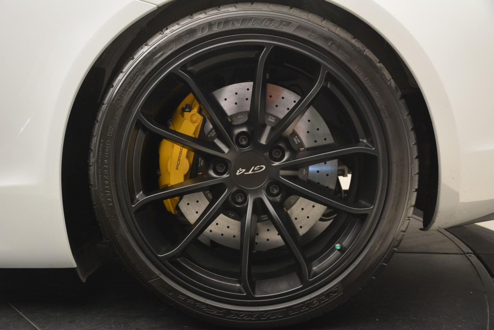 Used 2016 Porsche Cayman GT4 For Sale In Westport, CT 2234_p14