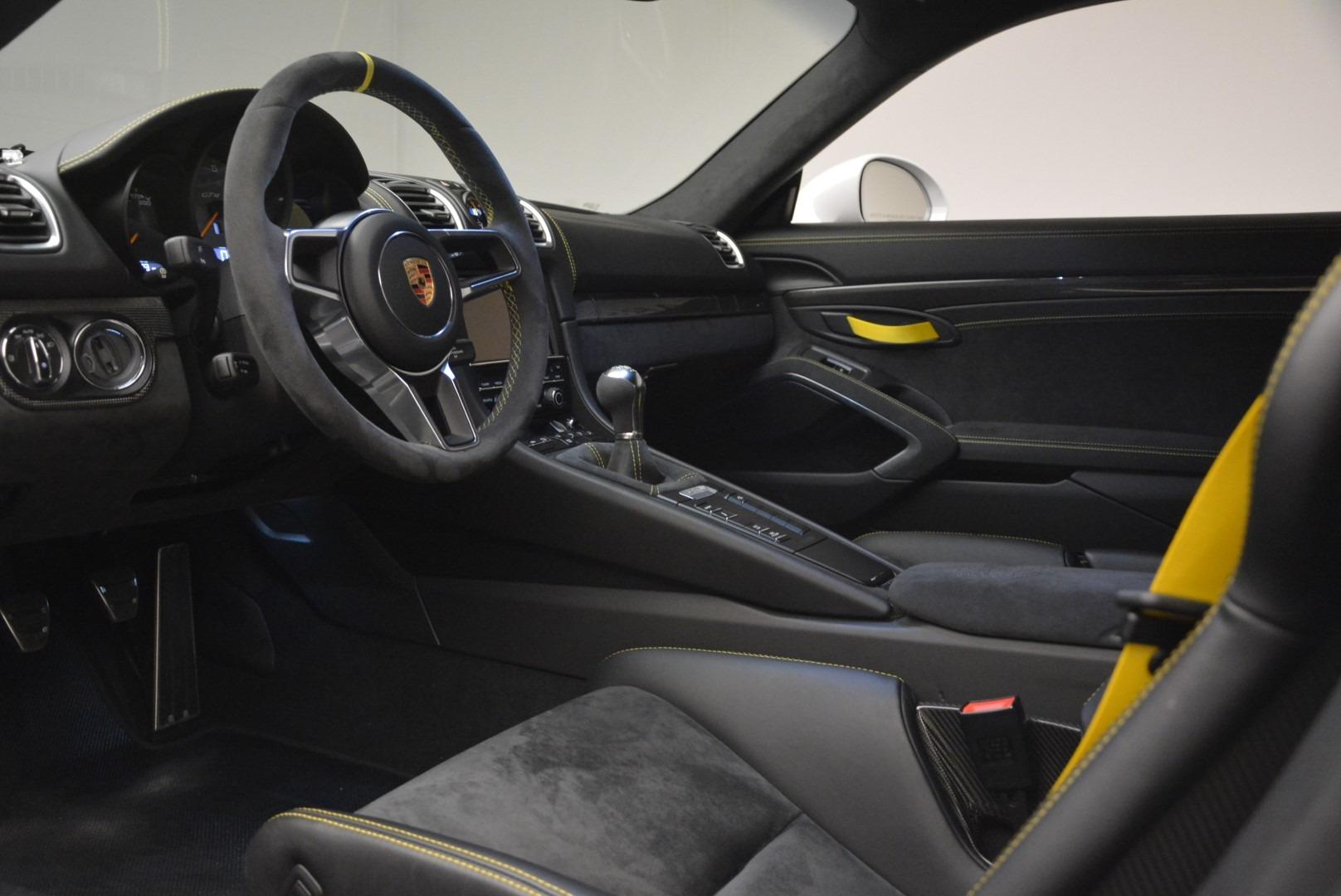 Used 2016 Porsche Cayman GT4 For Sale In Westport, CT 2234_p15