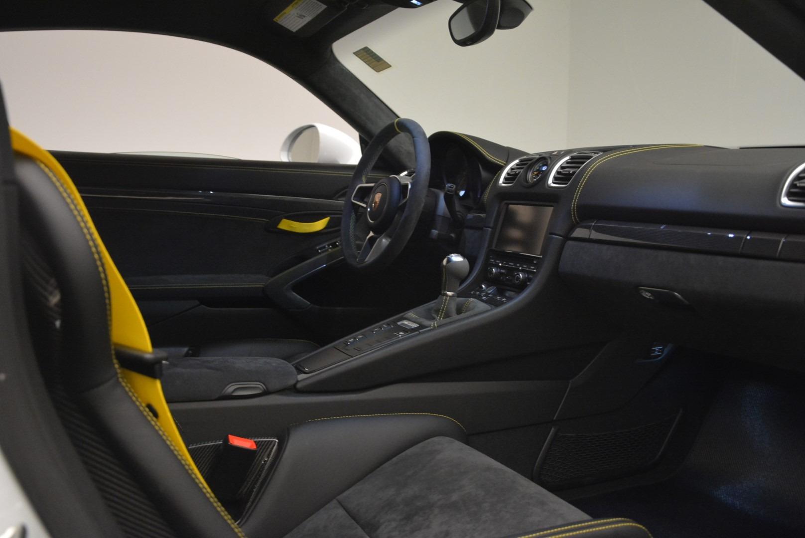 Used 2016 Porsche Cayman GT4 For Sale In Westport, CT 2234_p18