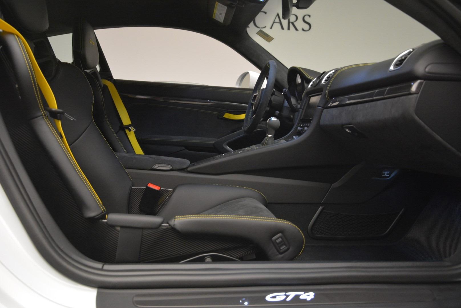 Used 2016 Porsche Cayman GT4 For Sale In Westport, CT 2234_p19