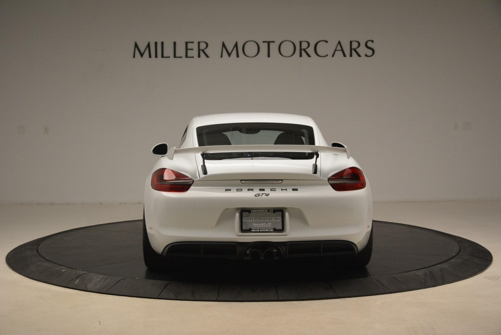 Used 2016 Porsche Cayman GT4 For Sale In Westport, CT 2234_p6