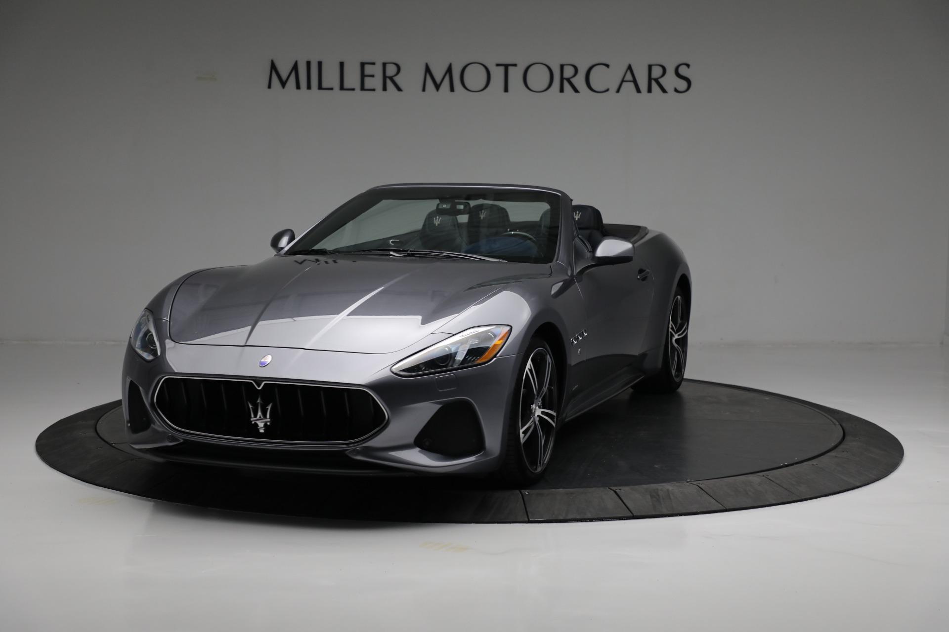 New 2018 Maserati GranTurismo Sport For Sale In Westport, CT 2240_main