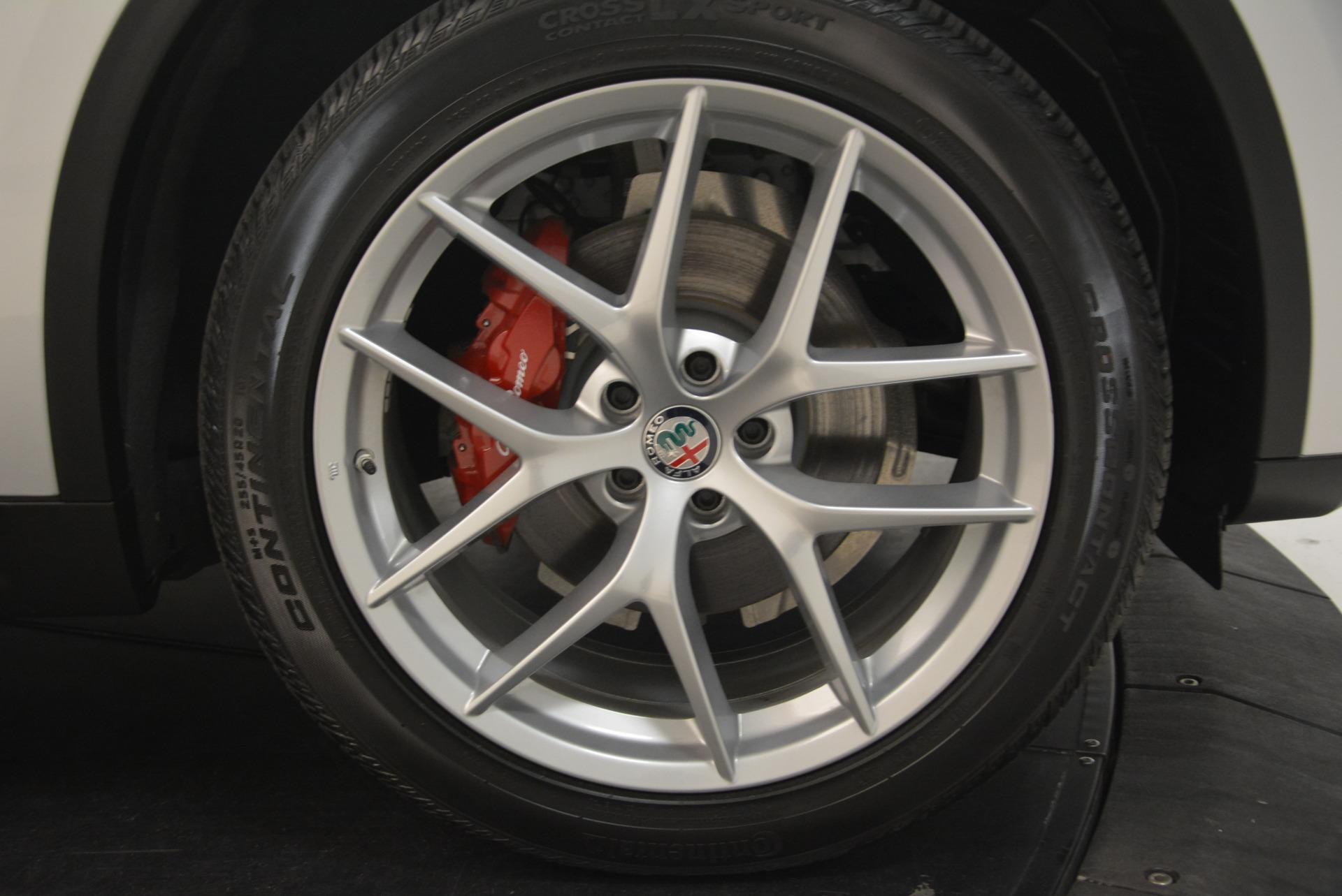 New 2018 Alfa Romeo Stelvio Ti Sport Q4 For Sale In Westport, CT 2247_p25
