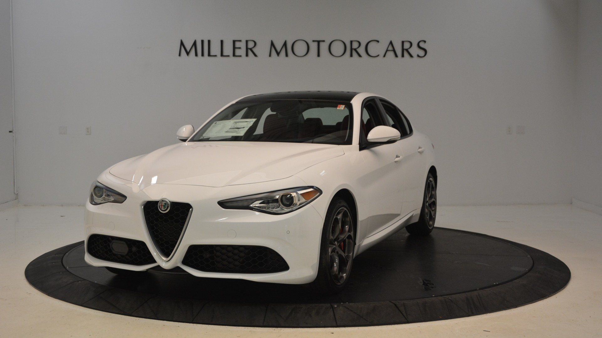New 2018 Alfa Romeo Giulia Ti Sport Q4 For Sale In Westport, CT 2249_main