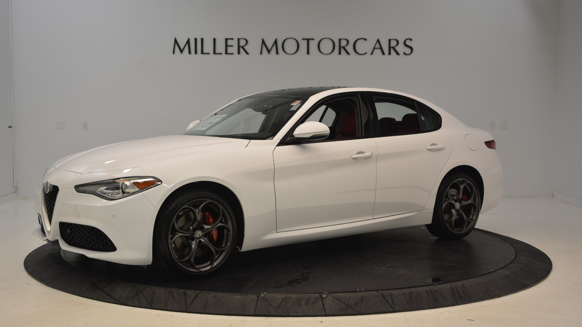 New 2018 Alfa Romeo Giulia Ti Sport Q4 For Sale In Westport, CT 2249_p2