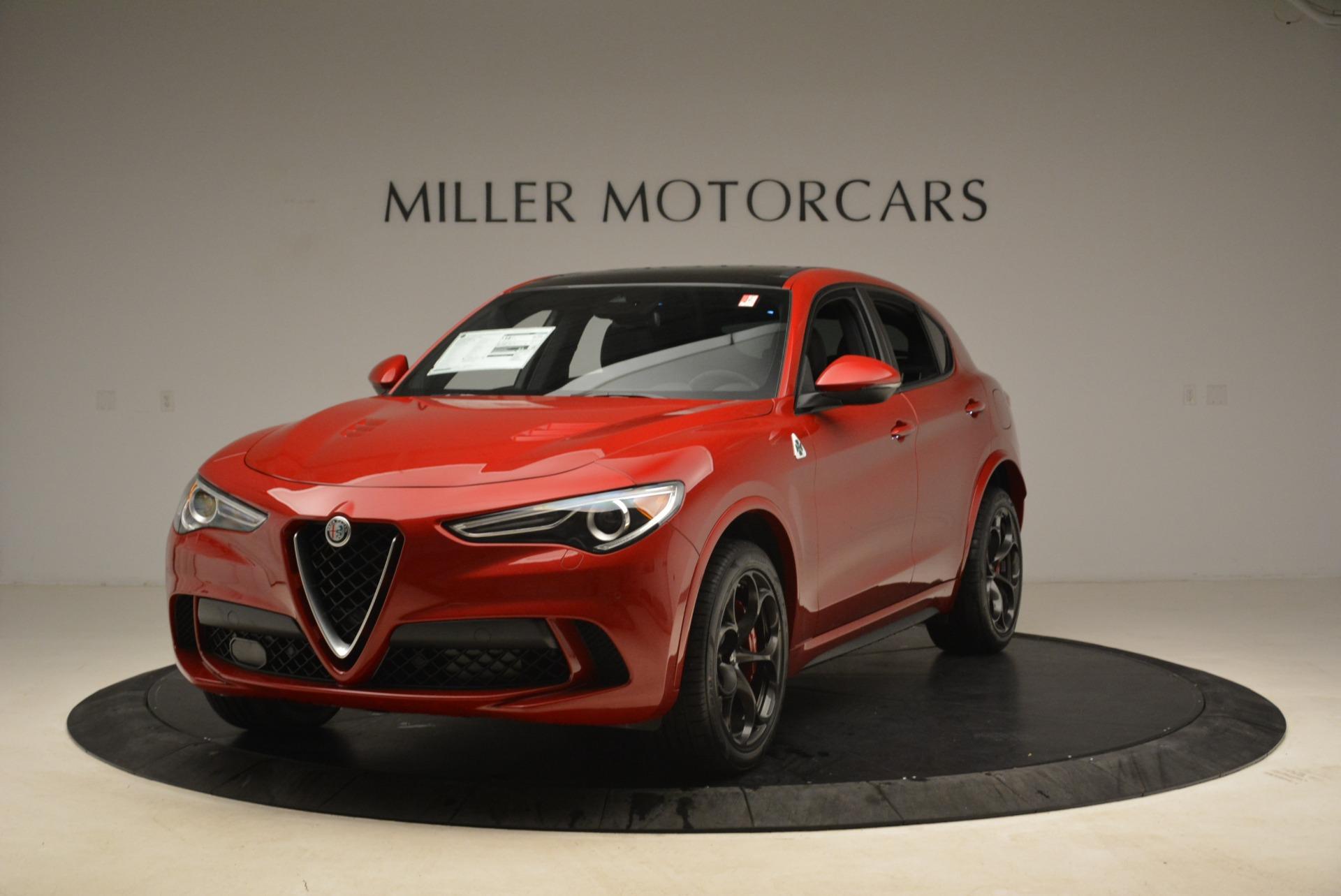 New 2018 Alfa Romeo Stelvio Quadrifoglio For Sale In Westport, CT 2251_main
