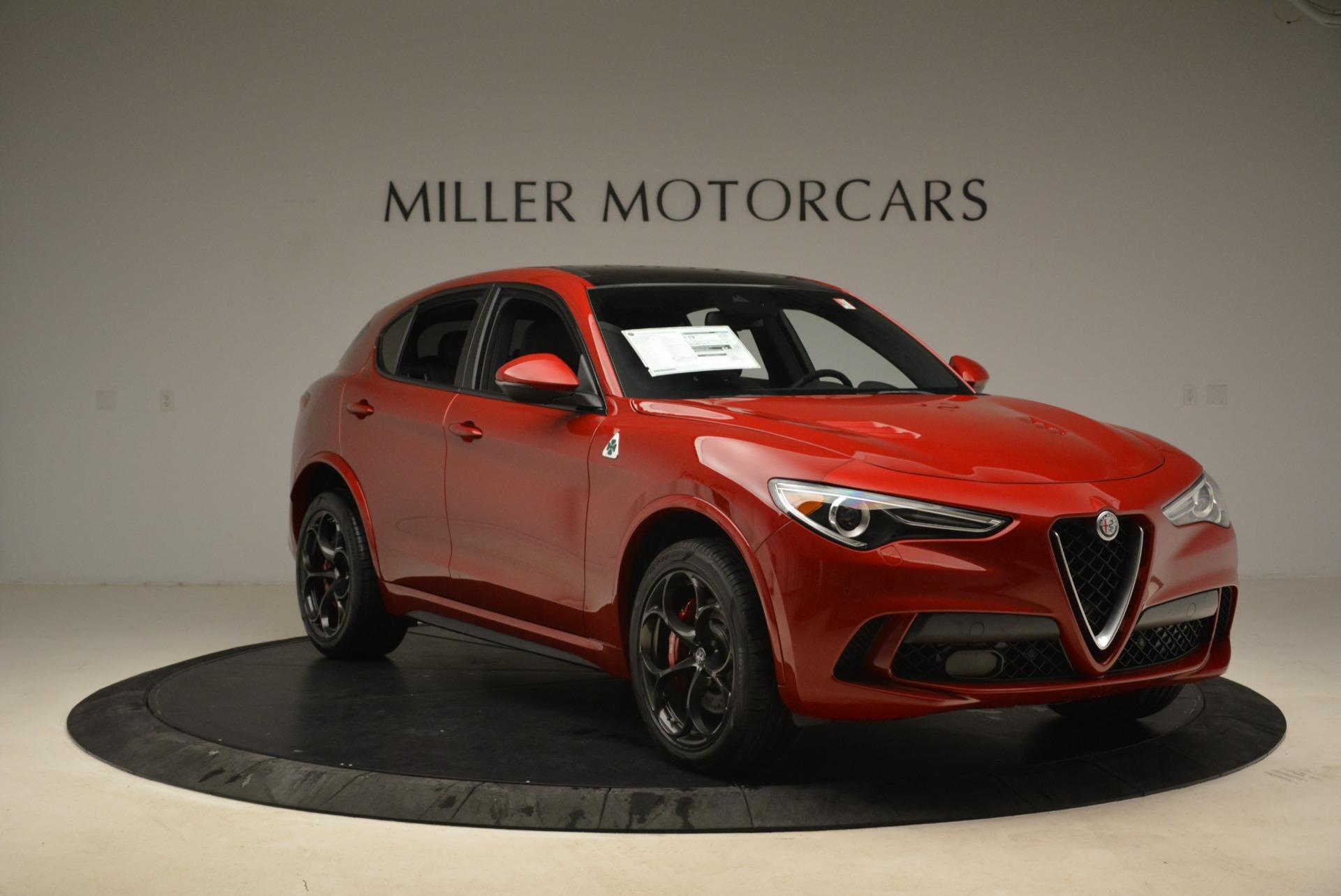 New 2018 Alfa Romeo Stelvio Quadrifoglio For Sale In Westport, CT 2251_p11