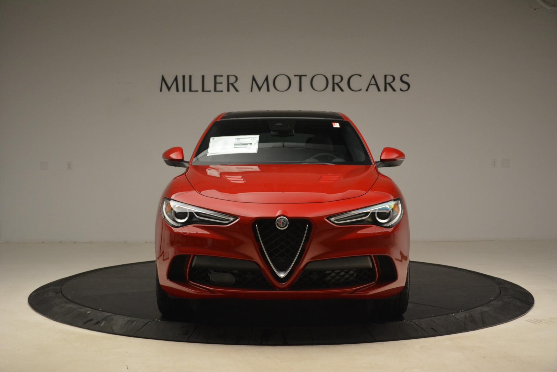 New 2018 Alfa Romeo Stelvio Quadrifoglio For Sale In Westport, CT 2251_p12